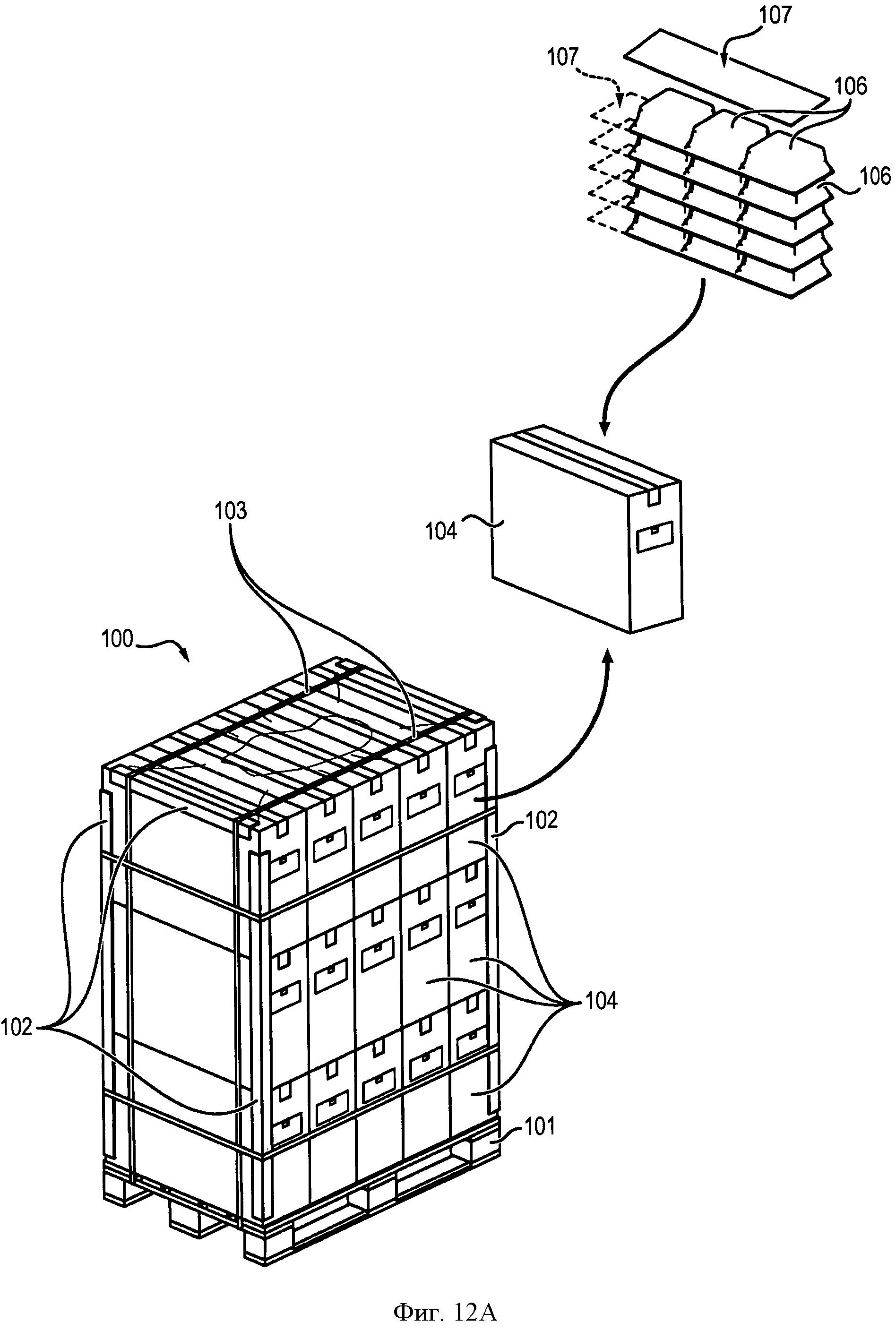 Упаковка для медицинских контейнеров