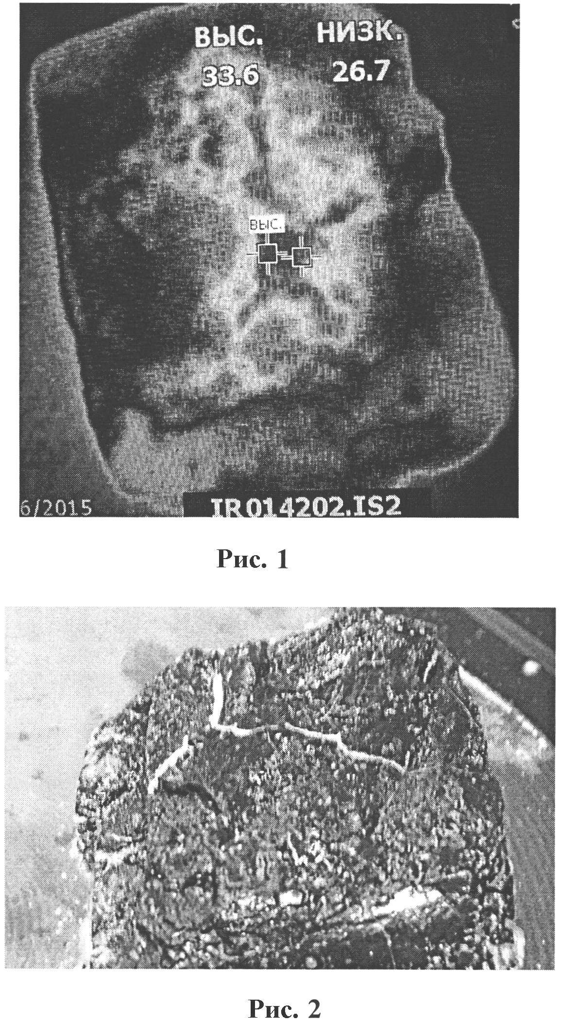 Способ создания термозависимой угольной пленочной оболочки
