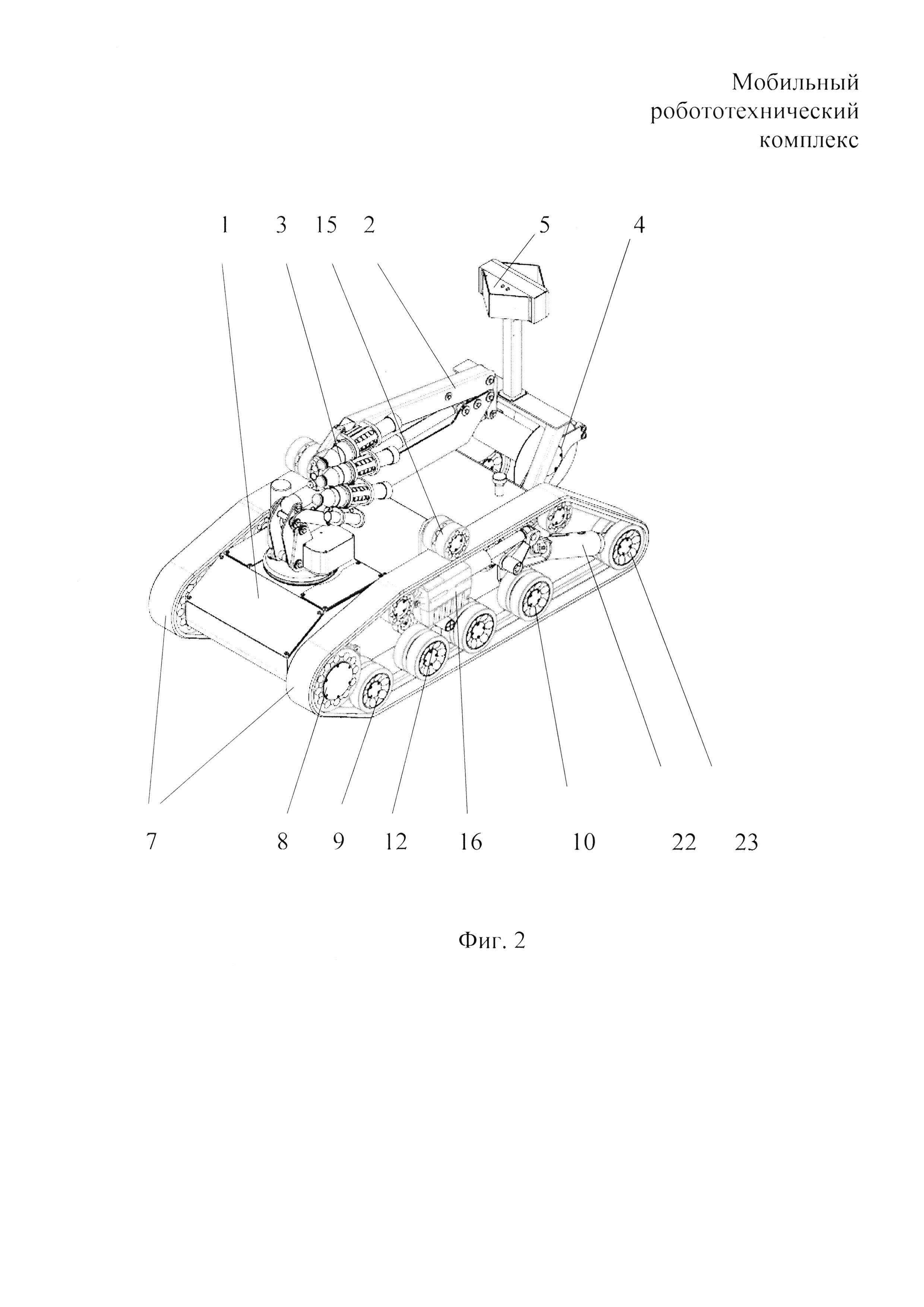 Мобильный робототехнический комплекс