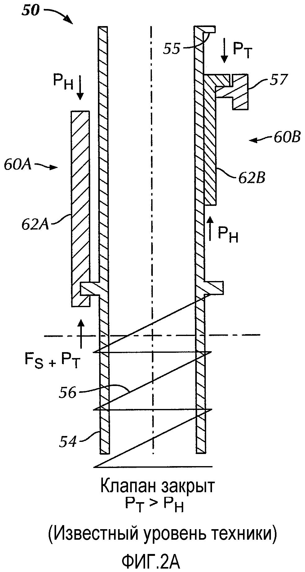 Отказобезопасный регулятор предохранительного клапана для установки на глубине с двумя линиями управления