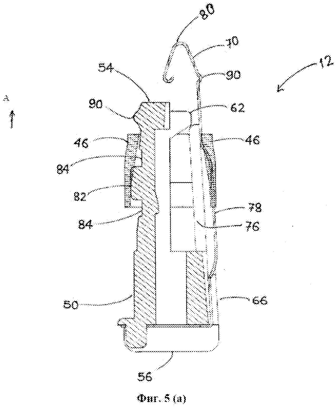 Иглозащитное устройство для медицинских инструментов