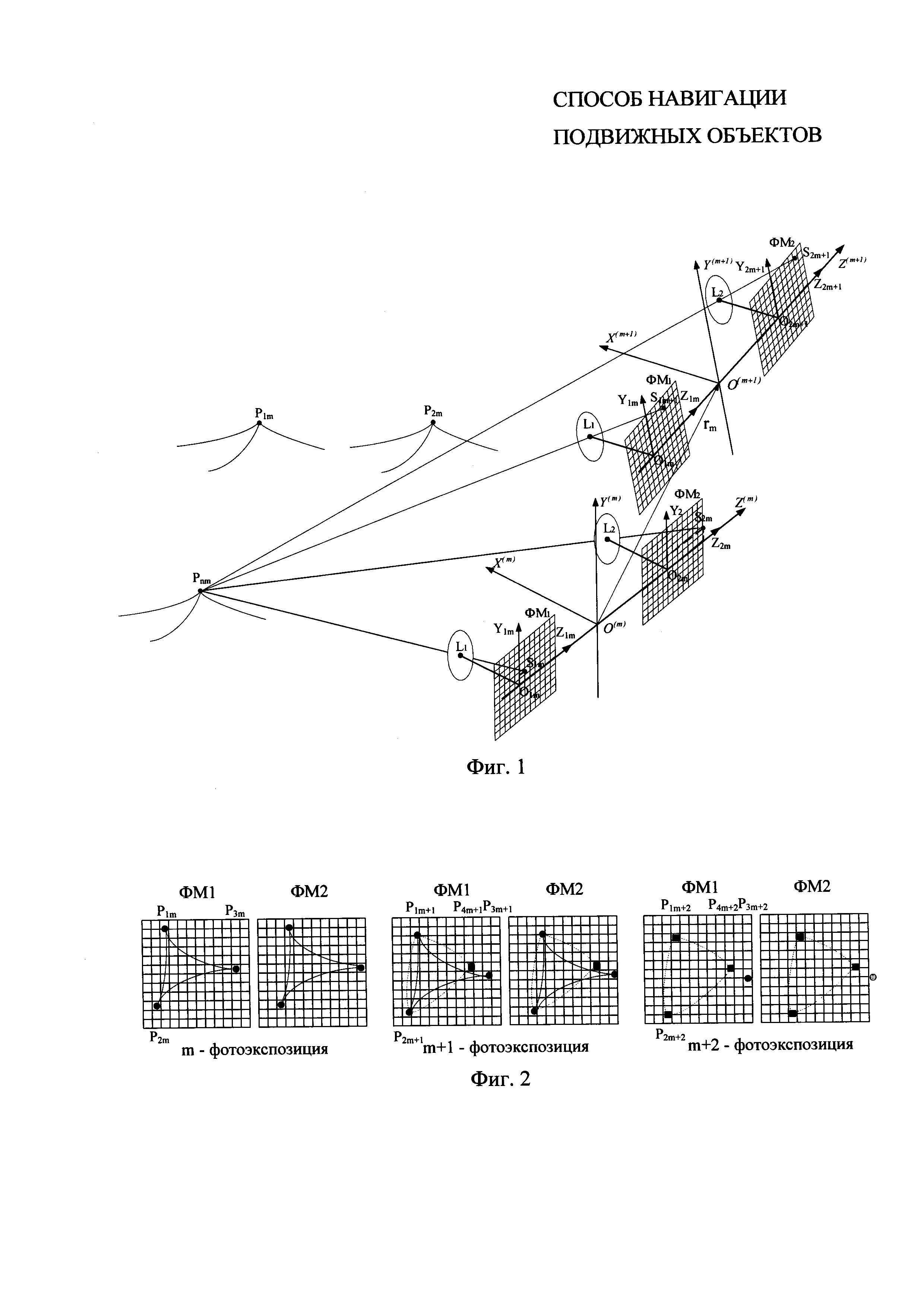 Способ навигации подвижного объекта
