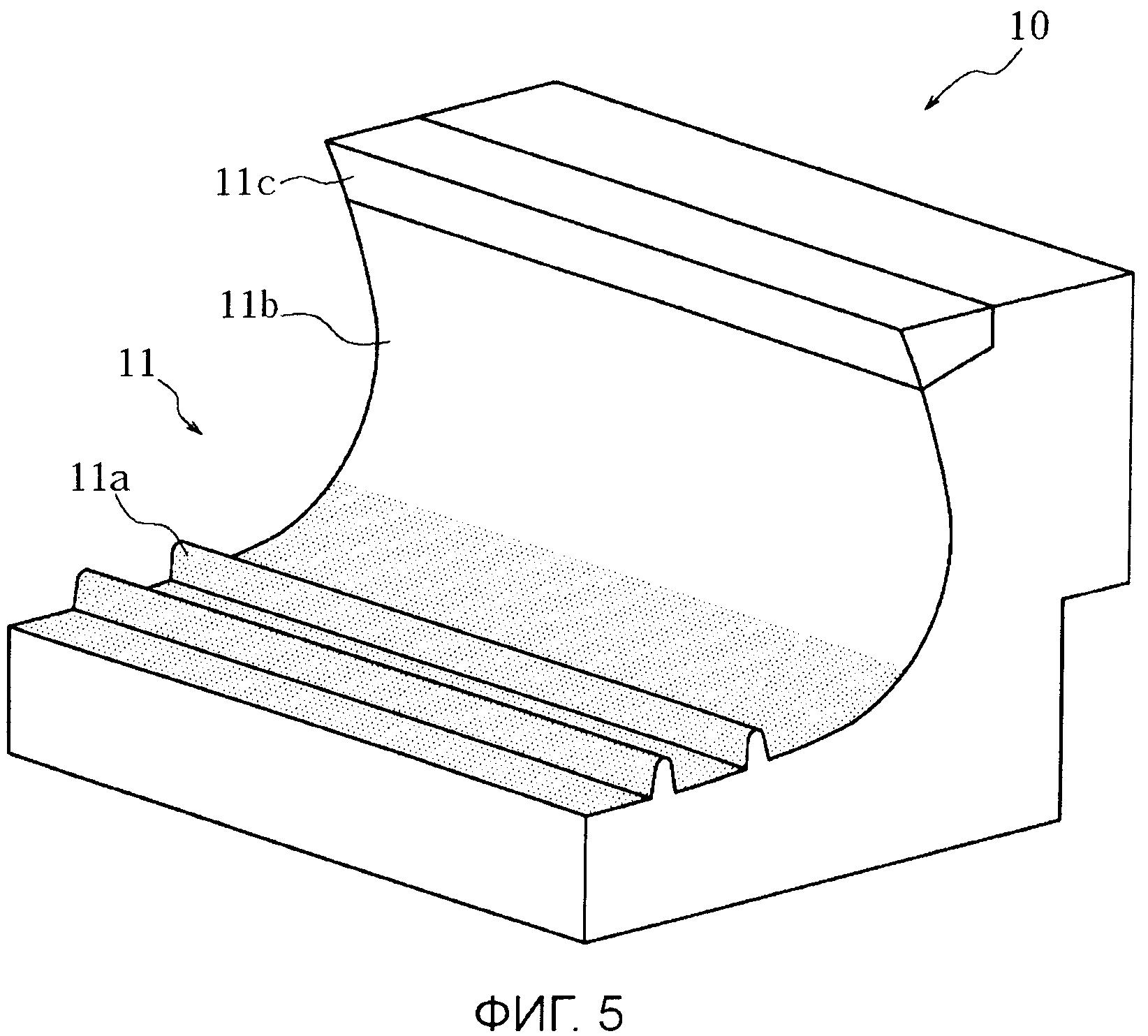 Шина и пресс-форма формования шины