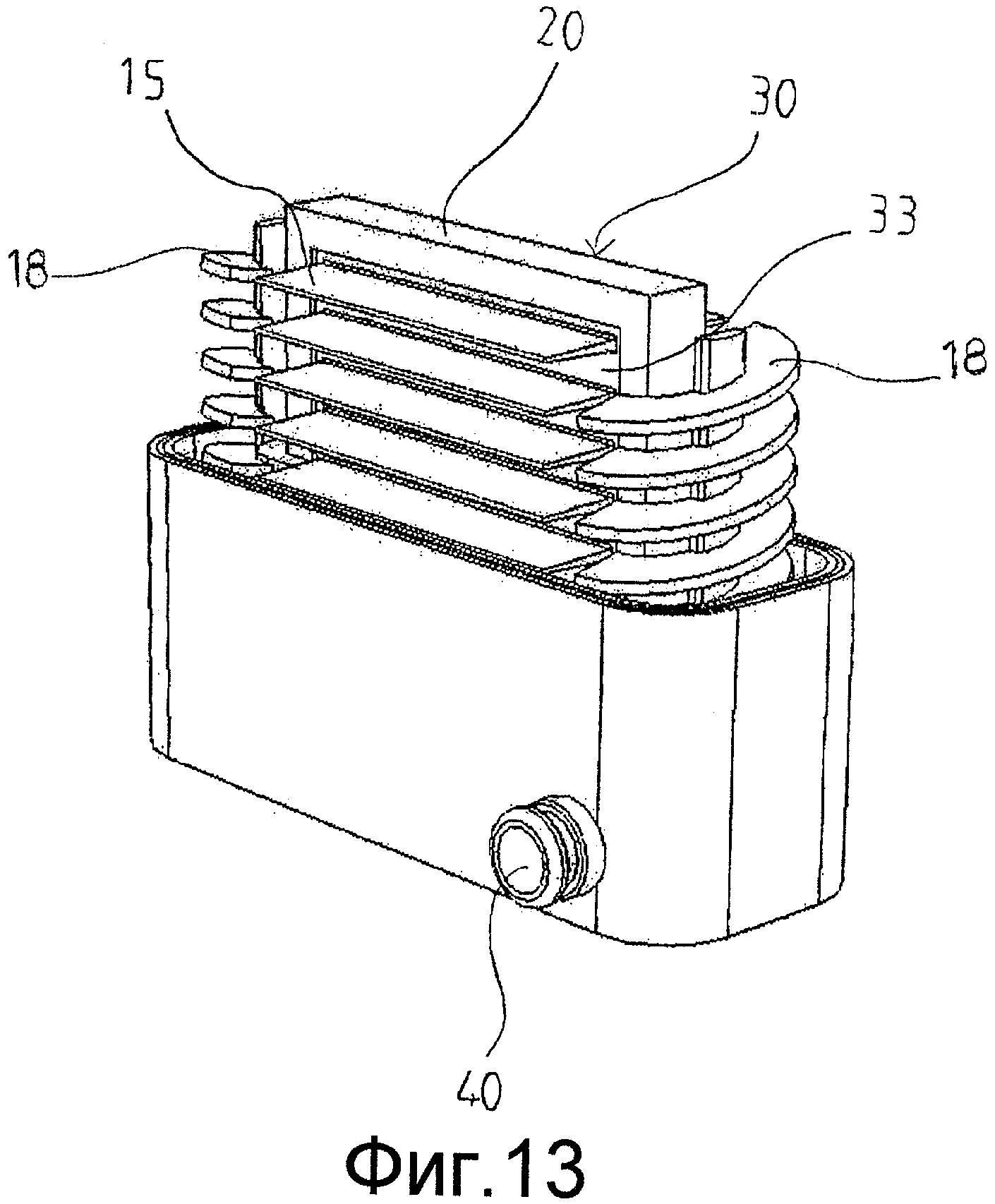 Водонагреватель для машины для приготовления горячих напитков