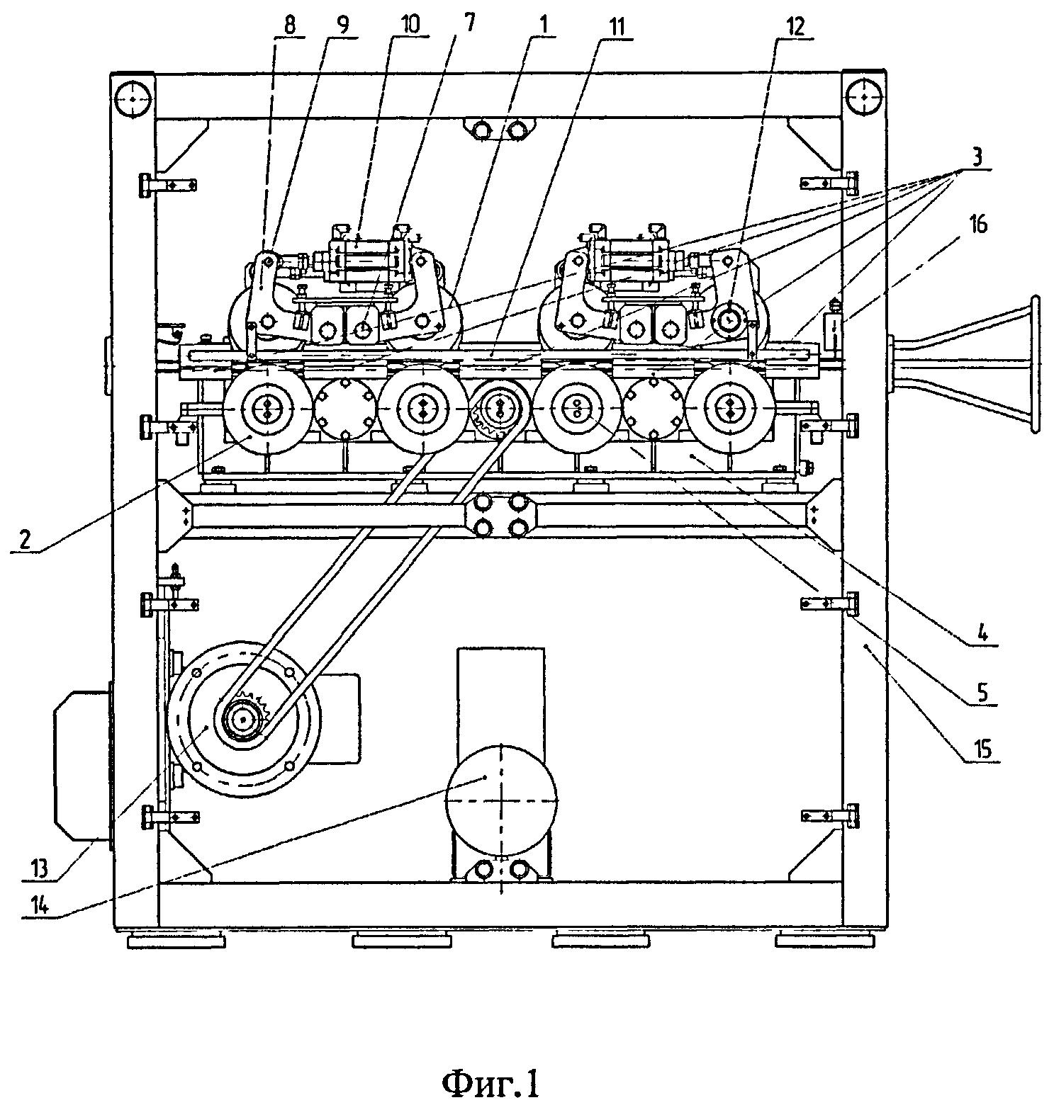 Многоручьевой трайб-аппарат для подачи алюминиевой и порошковой проволоки