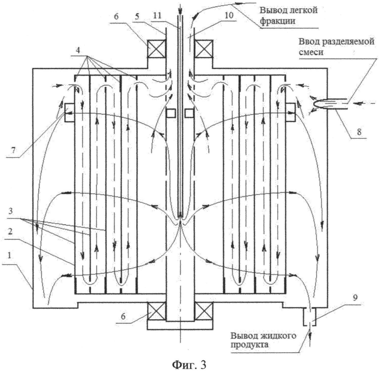 Способ разделения многокомпонентной смеси и устройство для его осуществления