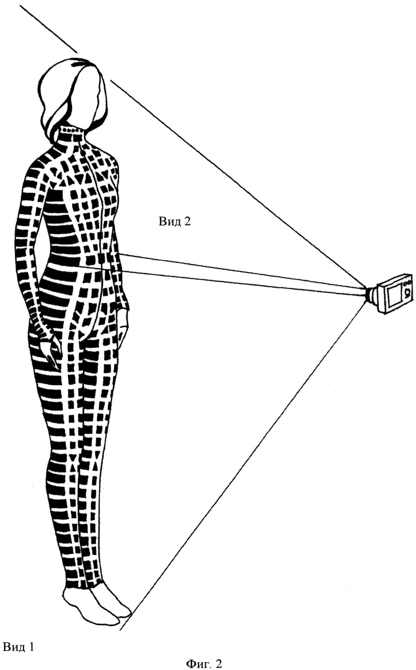 Способ виртуального подбора одежды