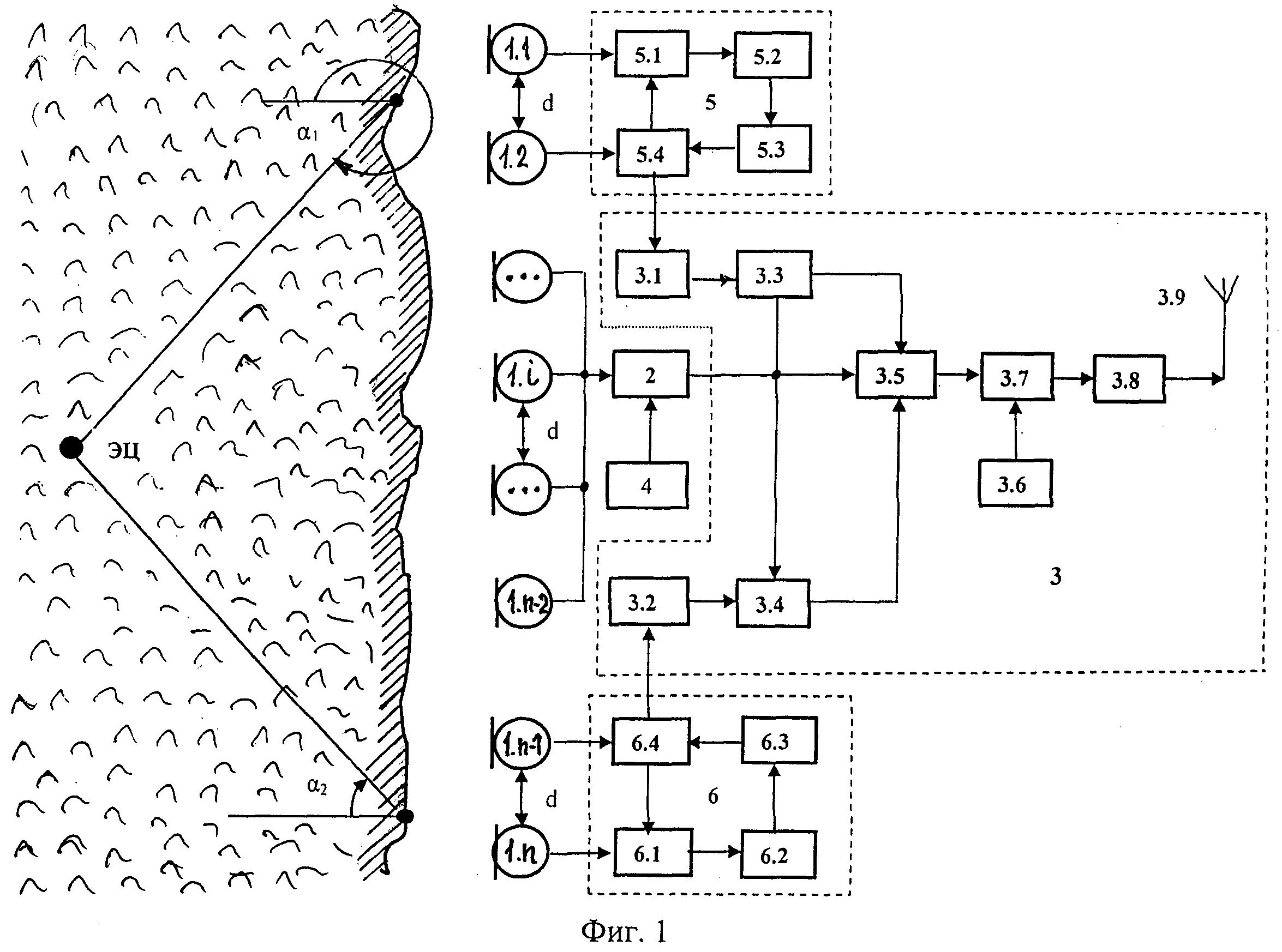 Система для определения колебаний водной поверхности