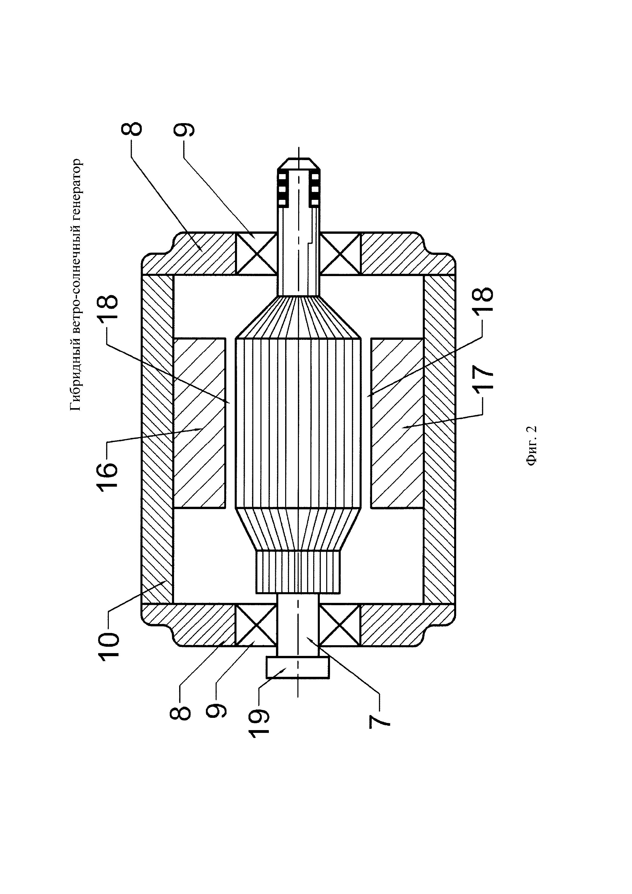 Гибридный ветро-солнечный генератор