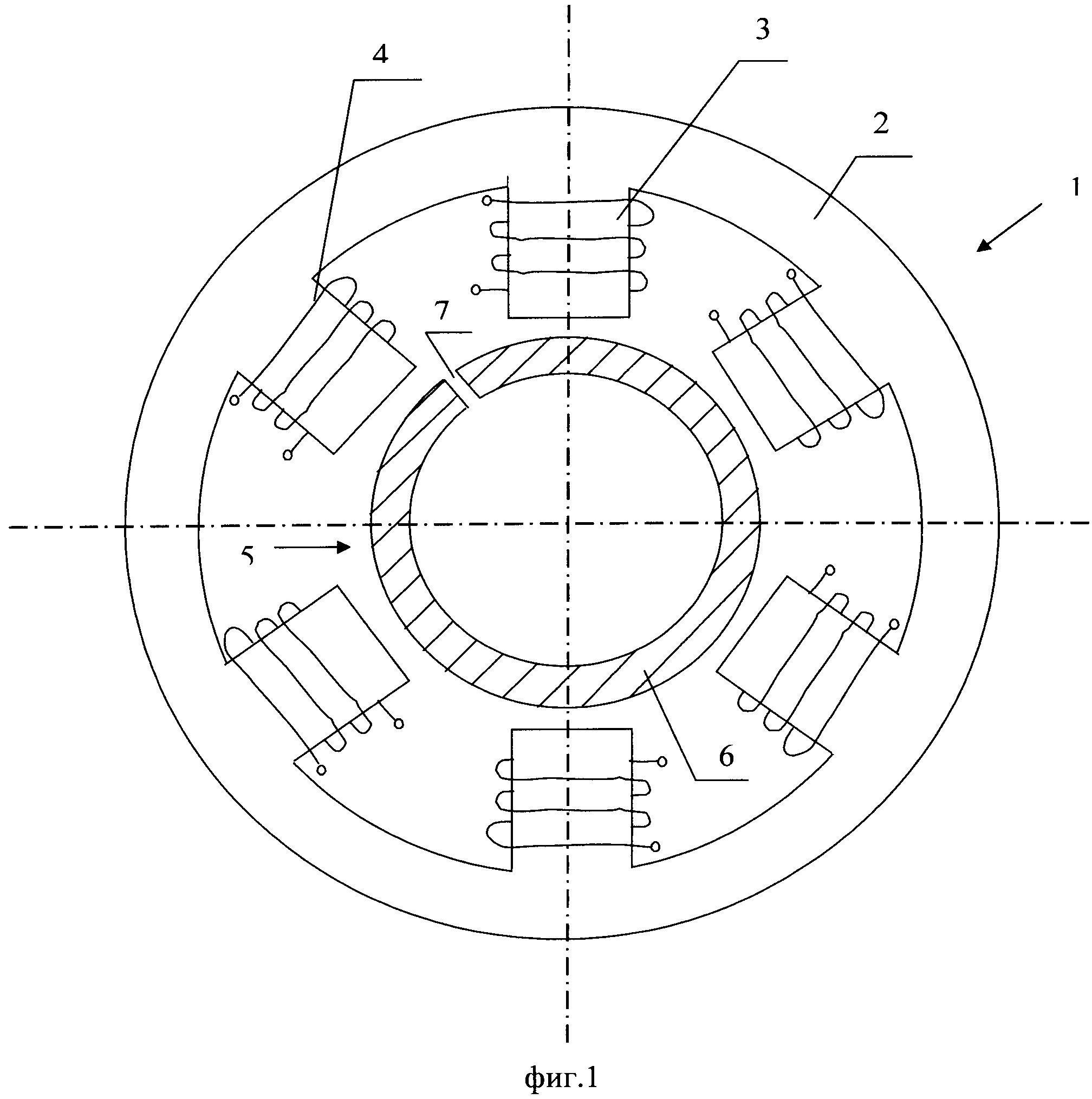 Шаговый электродвигатель