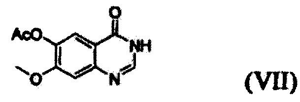 Способ получения 1-(4-(4-(3,4-дихлор-2-фторфениламино)-7-метоксихиназолин-6-илокси)пиперидин-1-ил)проп-2-ен-1-она
