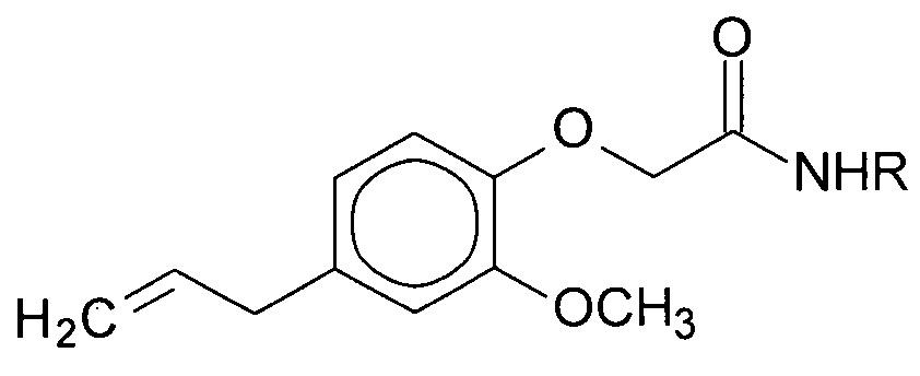 N-(адамантан-2-ил)- и n-[(адамантан-1-ил)метил]- производные амида 2-(4-аллил-2-метоксифенокси)уксусной кислоты, являющиеся потенциальными синтетическими адаптогенами экстренного действия