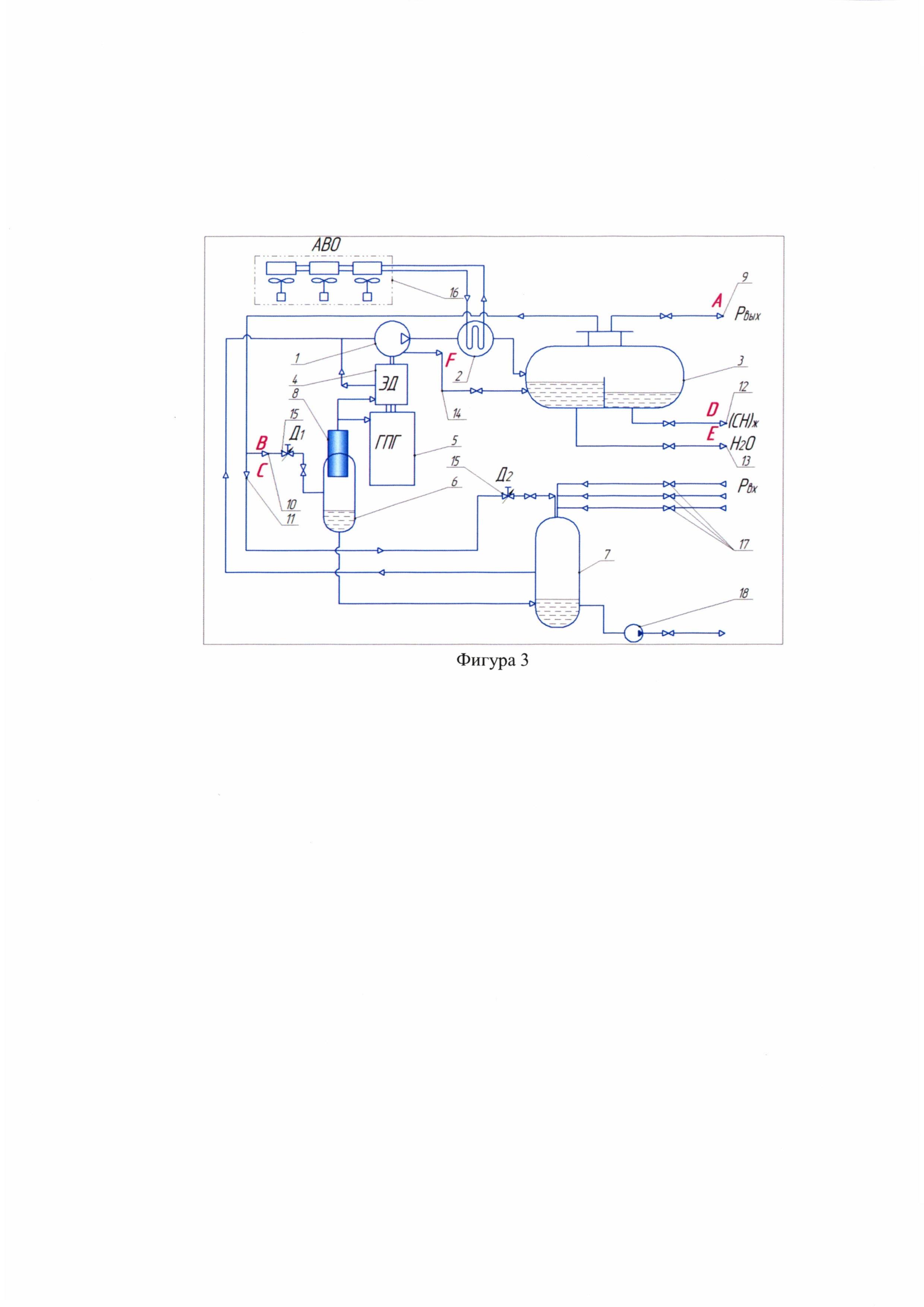 Способ использования углеводородного газа и модульная компрессорная установка для его осуществления