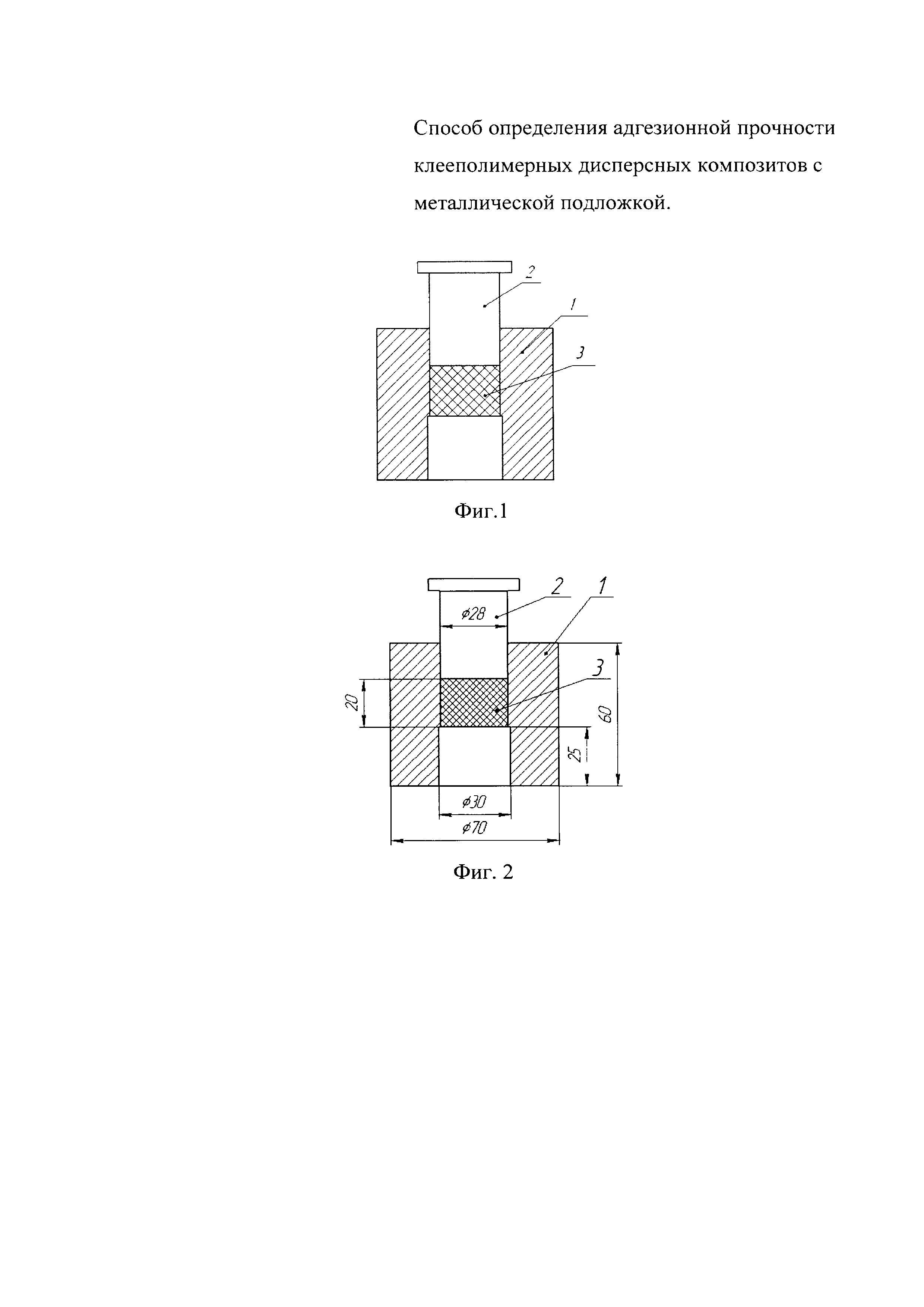 Способ определения адгезионной прочности клееполимерных дисперсных композитов с металлической подложкой