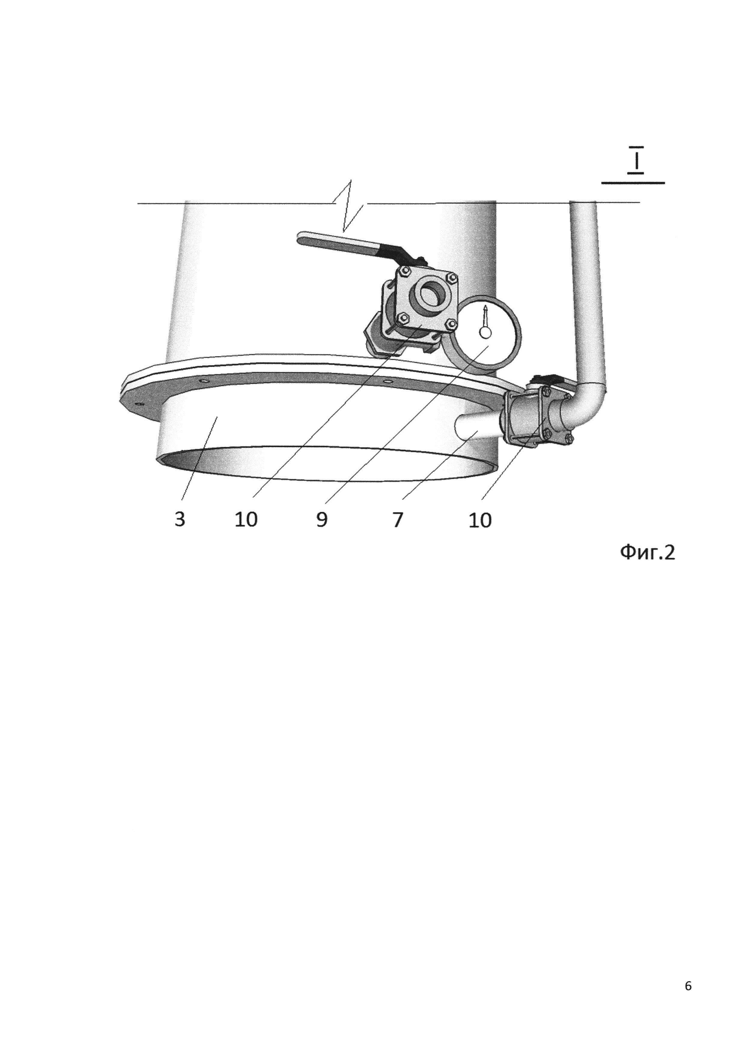 Установка для высокотемпературной сепарации смеси газов и способ ее работы
