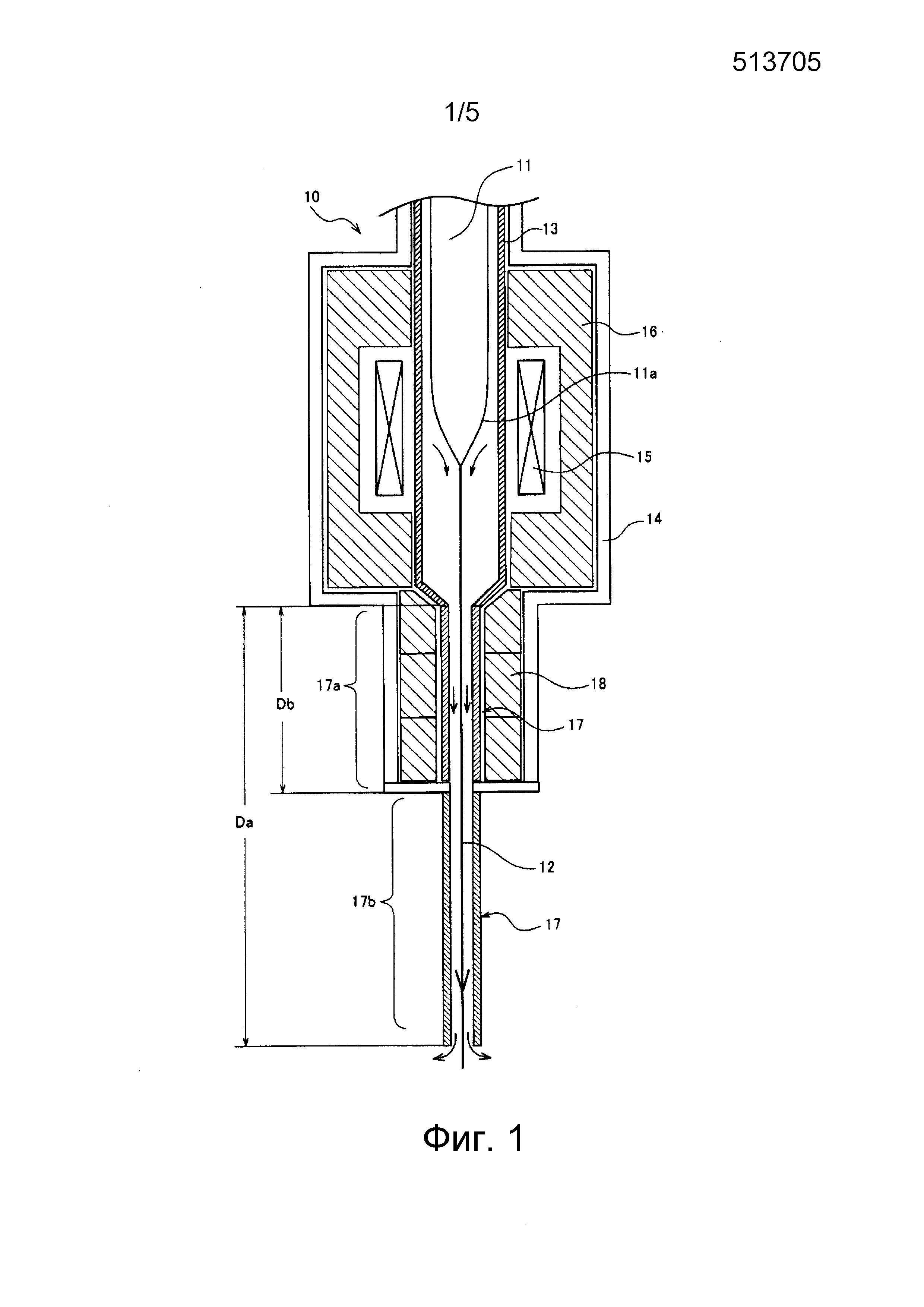 Способ и устройство для изготовления оптического волокна и оптическое волокно