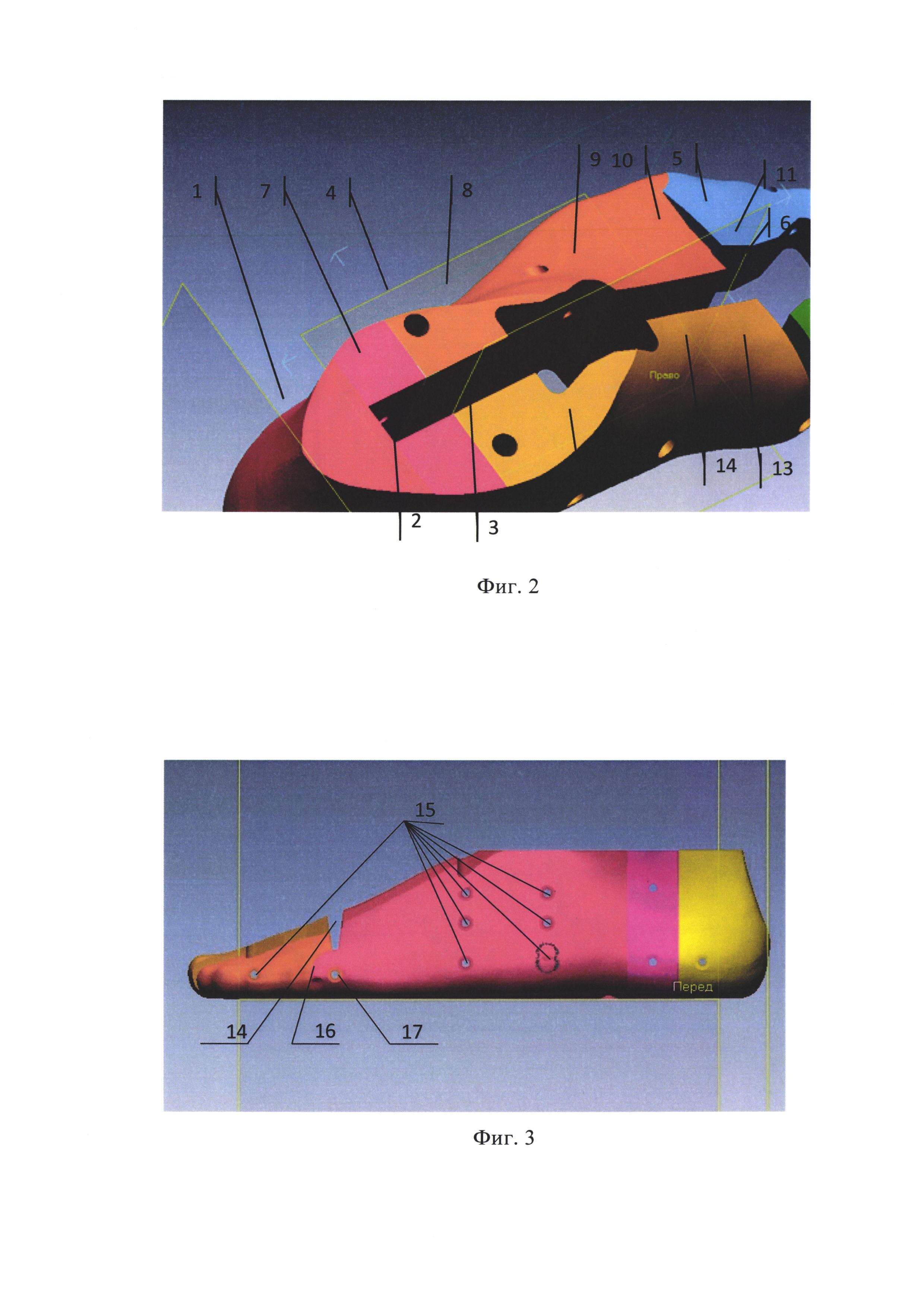 Способ производства индивидуальной колодки для персональной подгонки и формования внутренней поверхности обуви