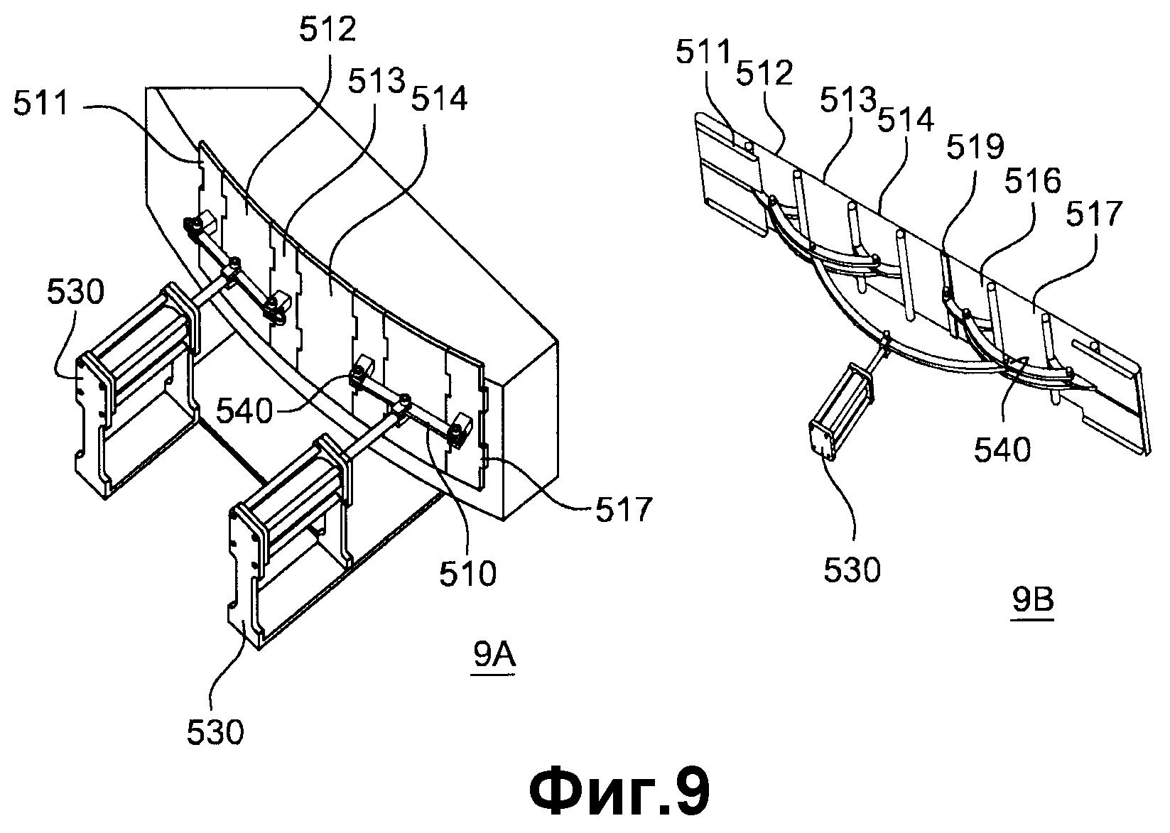 Способ и устройство для автоматизированного изготовления сухих волокнистых заготовок