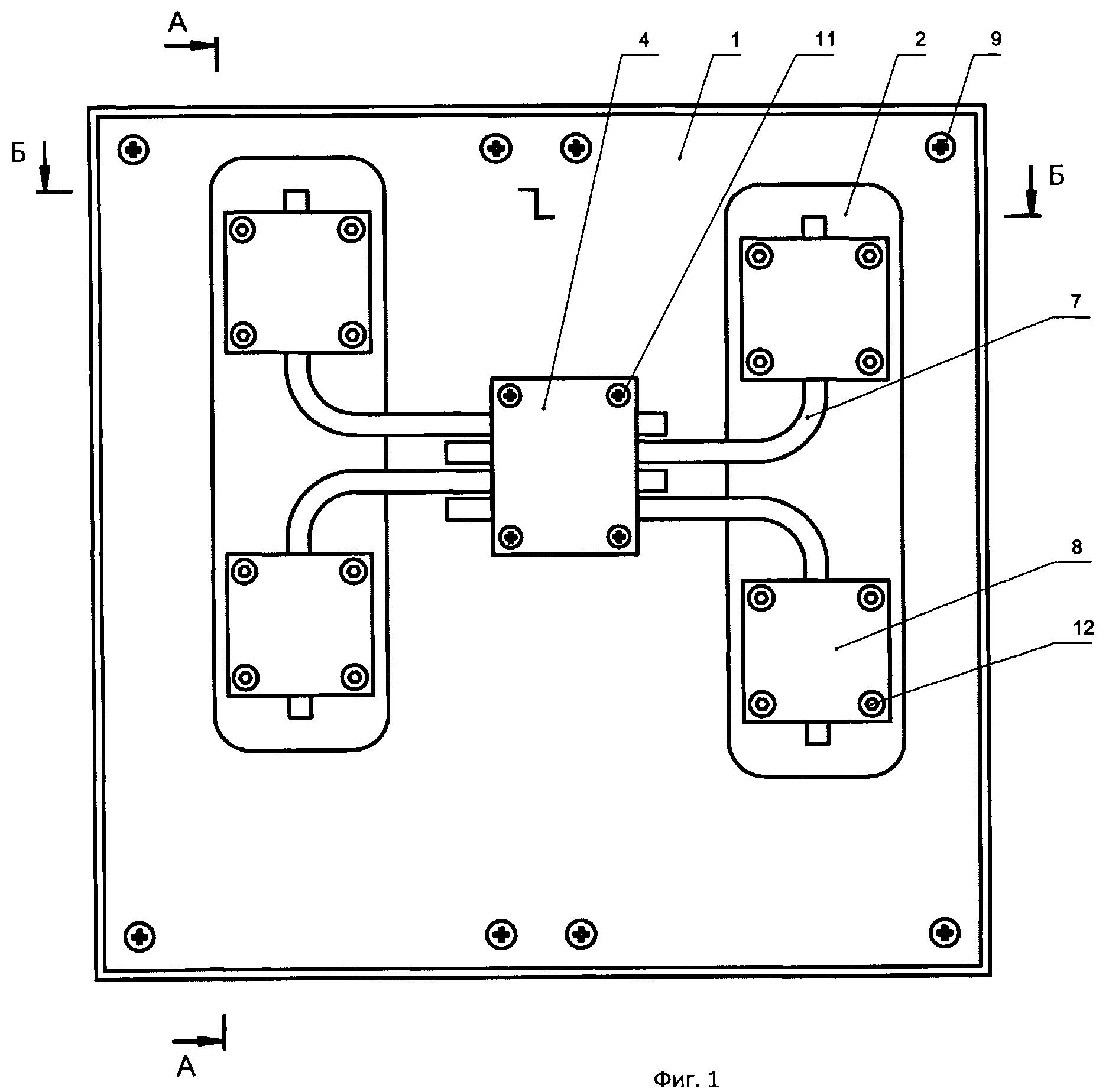 Охлаждающее устройство для электронных компонентов