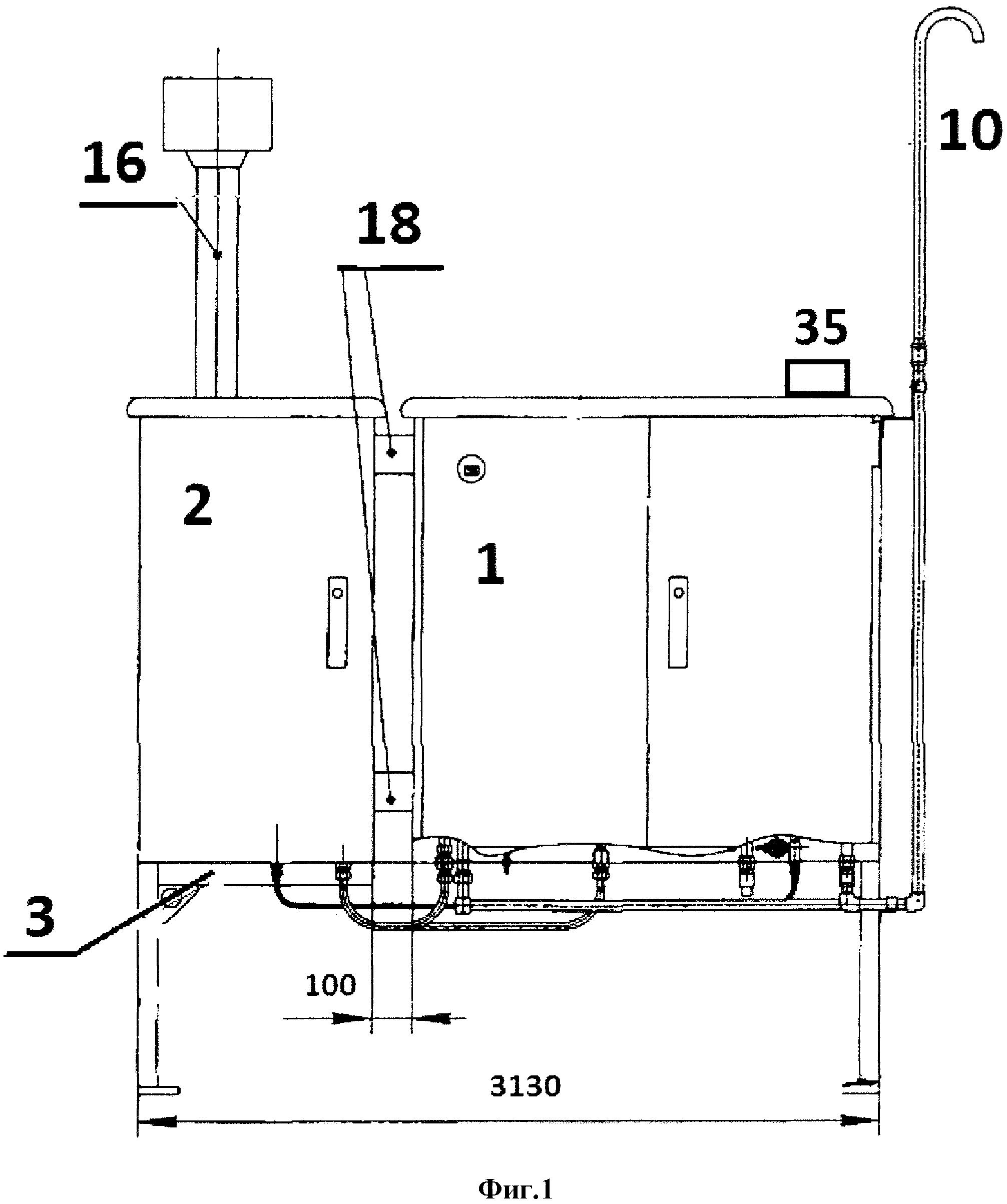Автоматический газоредуцирующий пункт