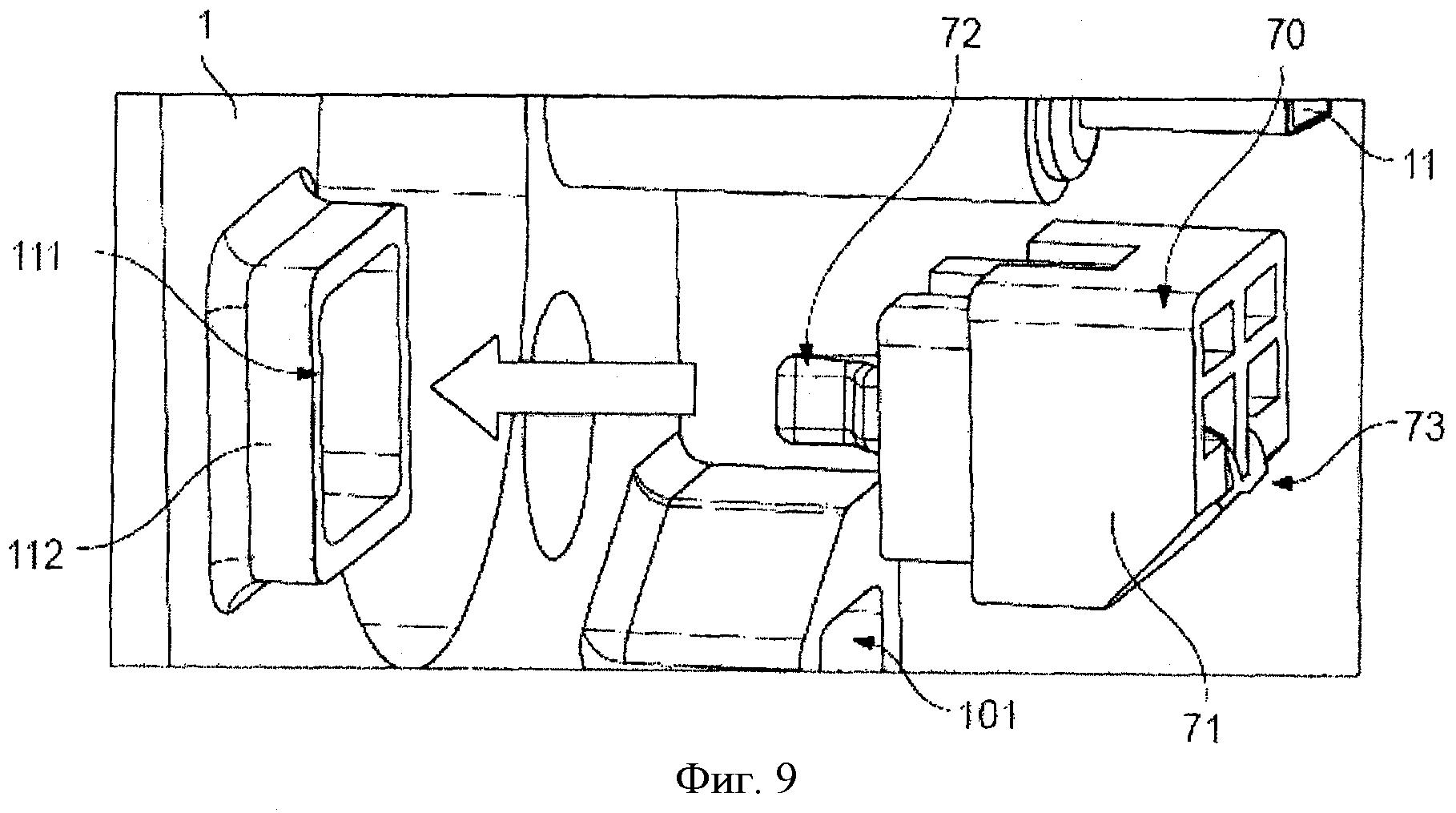 Нагревательное устройство с встроенным термоблоком для машины для приготовления напитков