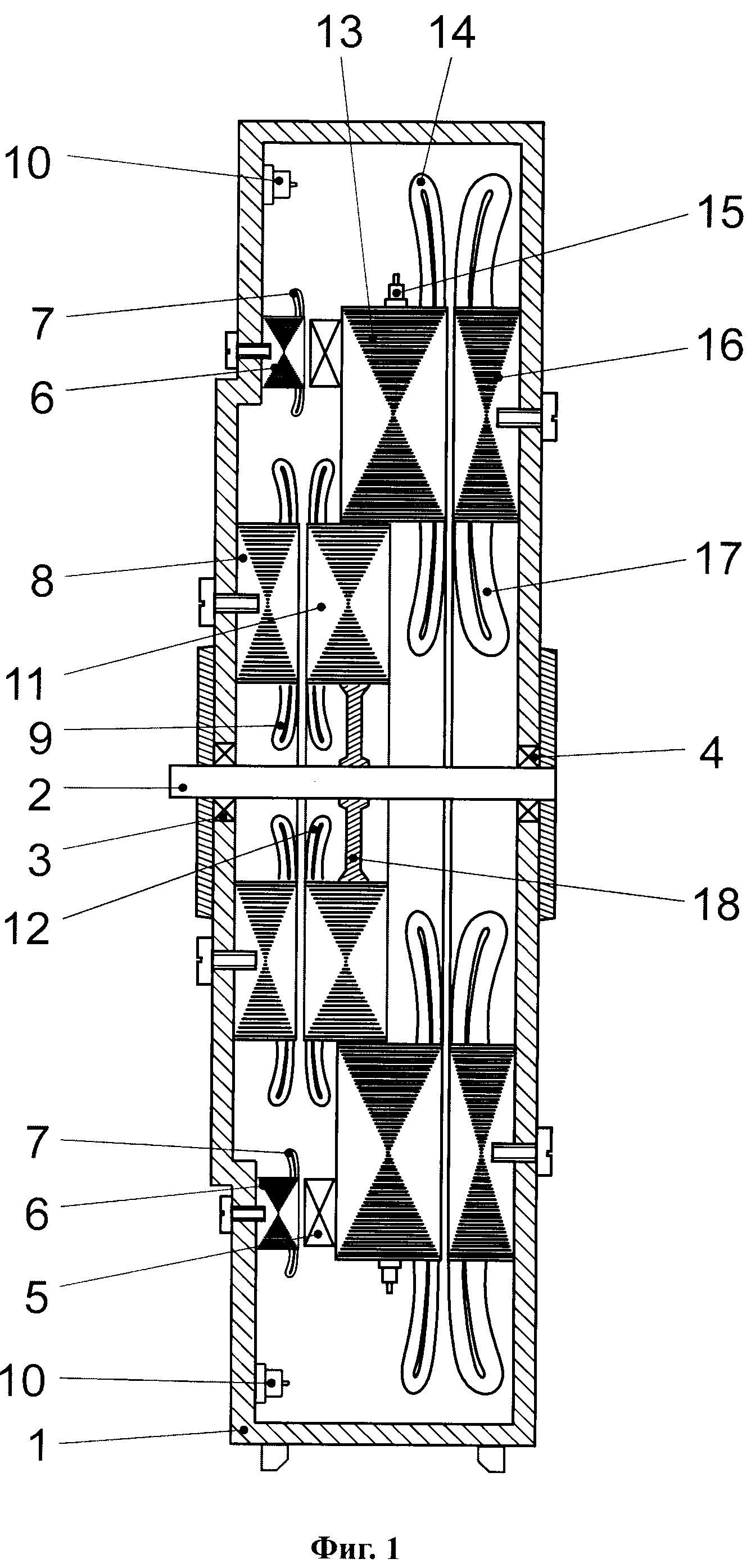 Аксиальный бесконтактный генератор переменного тока