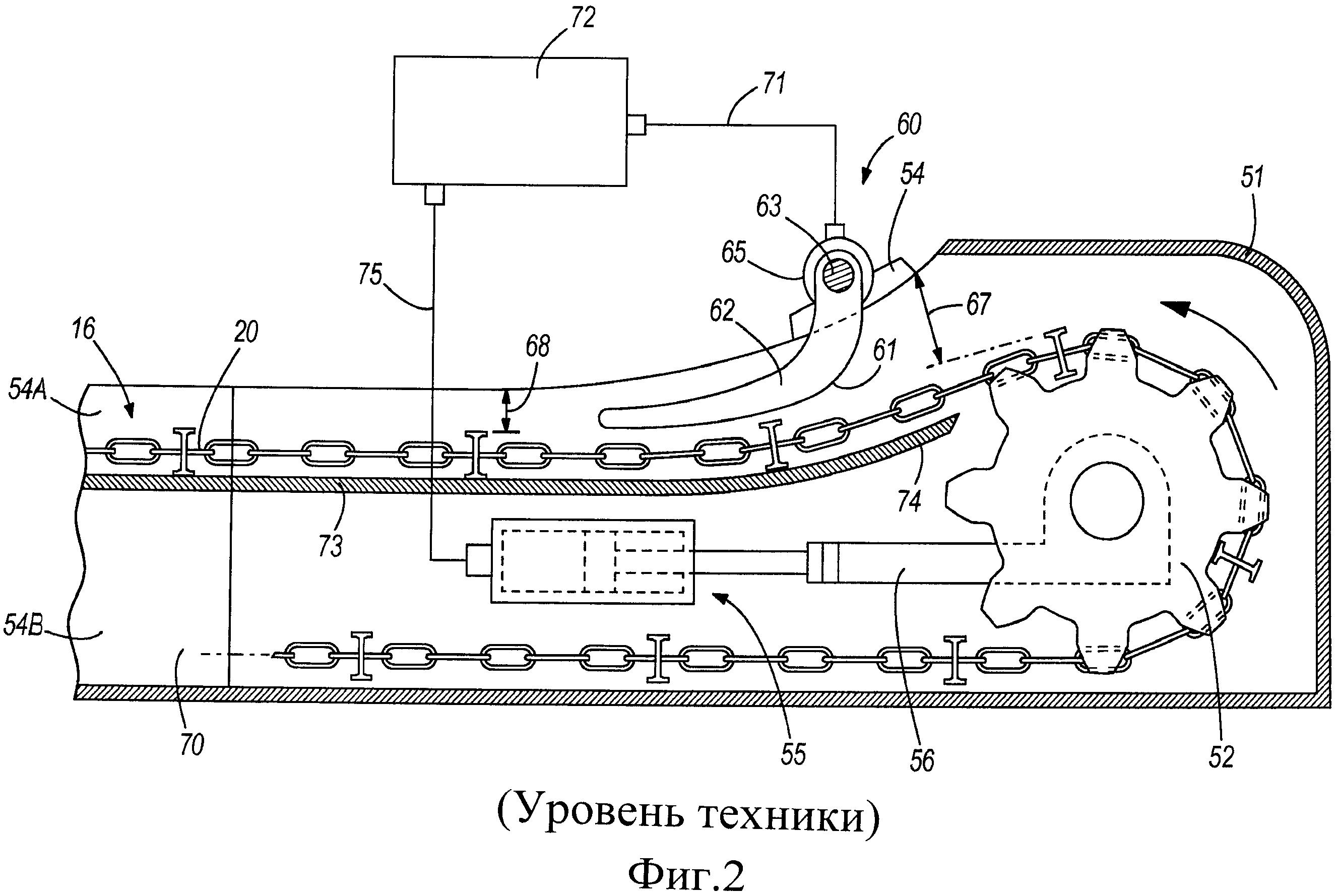 Натяжитель цепного конвейера транспортер твк 80б