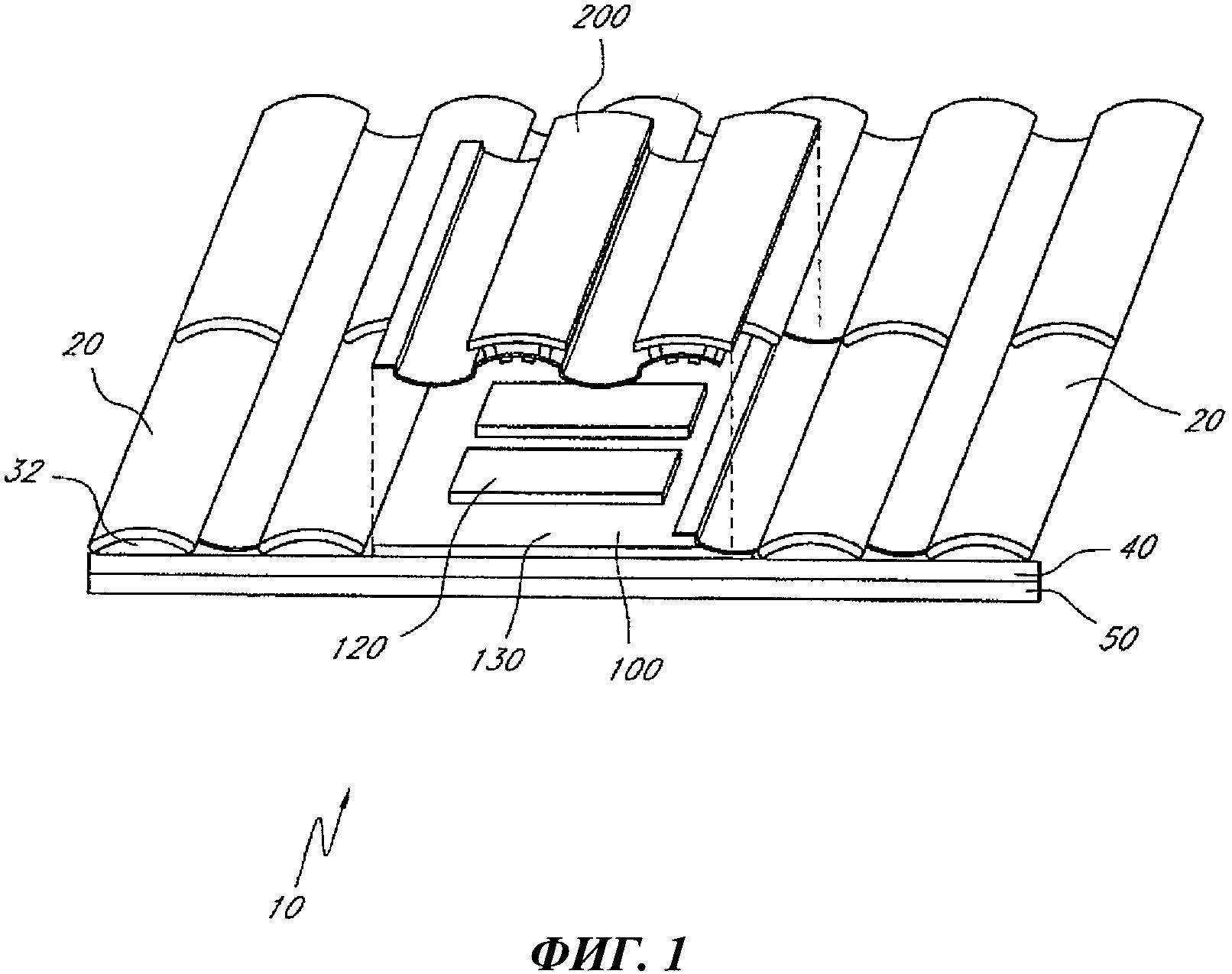 Крышная вентиляционная система, устойчивая к воздействию тлеющих углей и огня