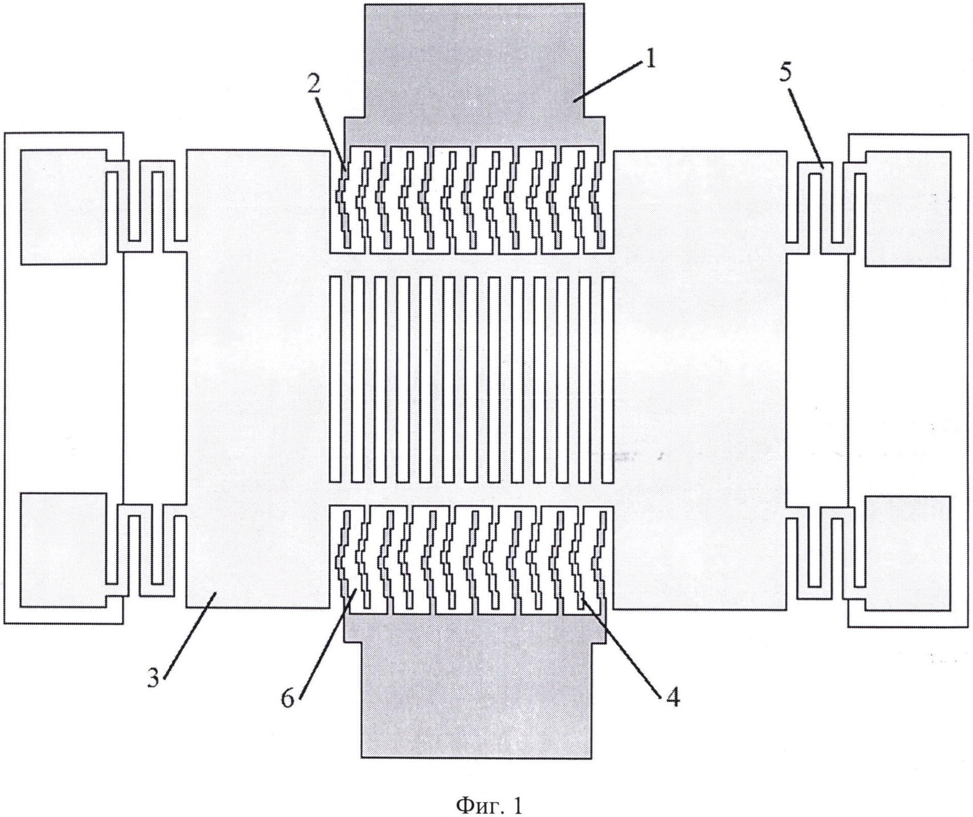 Конструкция микросистемы с повышенной радиационной стойкостью к воздействию одиночных заряженных частиц