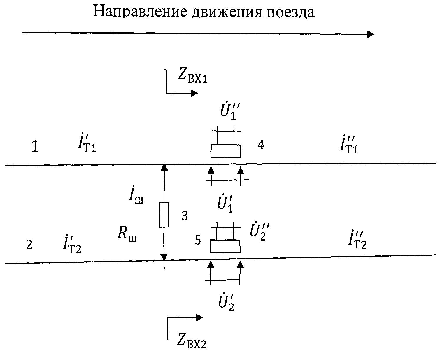 Способ измерения асимметрии переменного тягового тока в рельсовых линиях под катушками алс