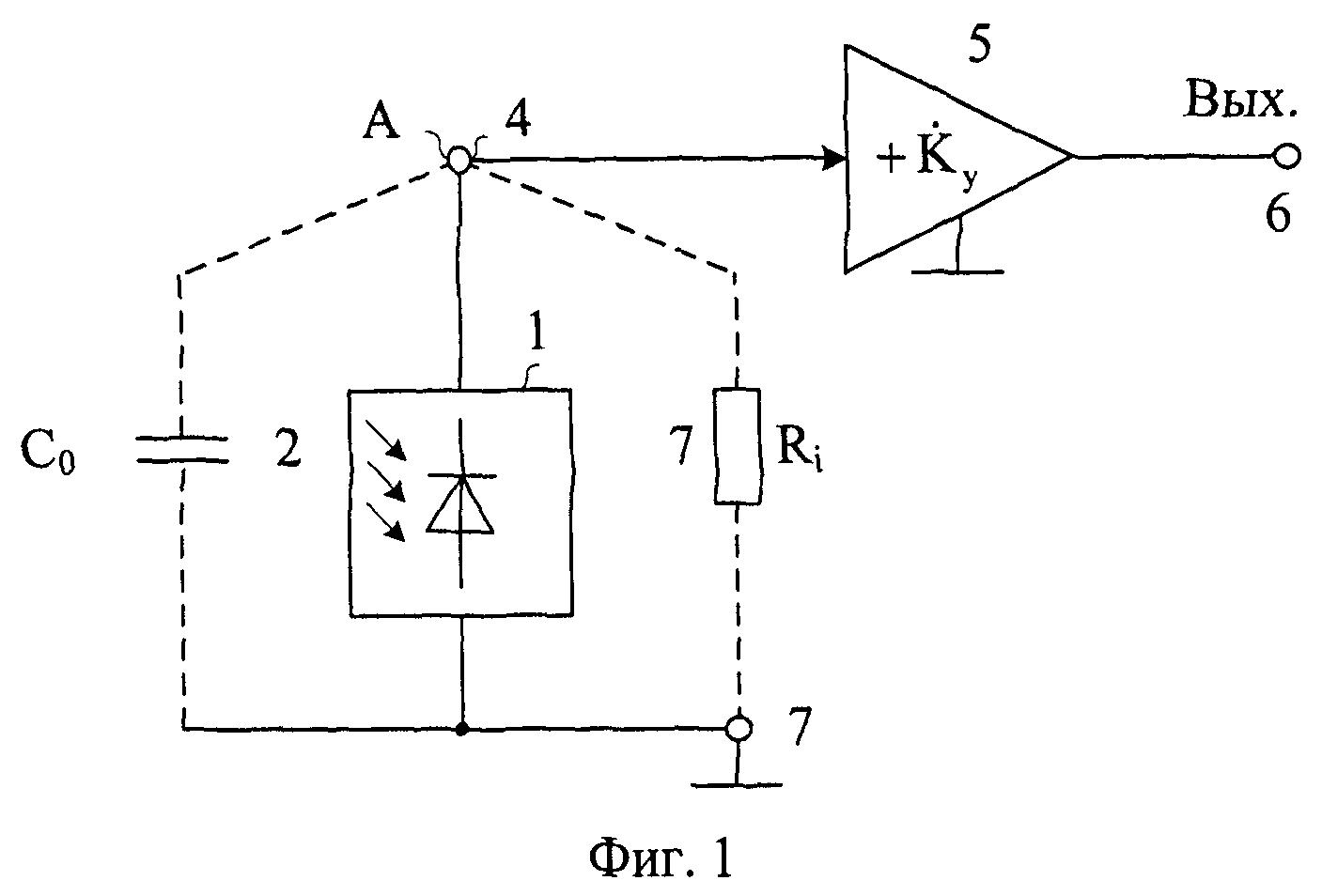 для модель сигналов фотодиода бассейны