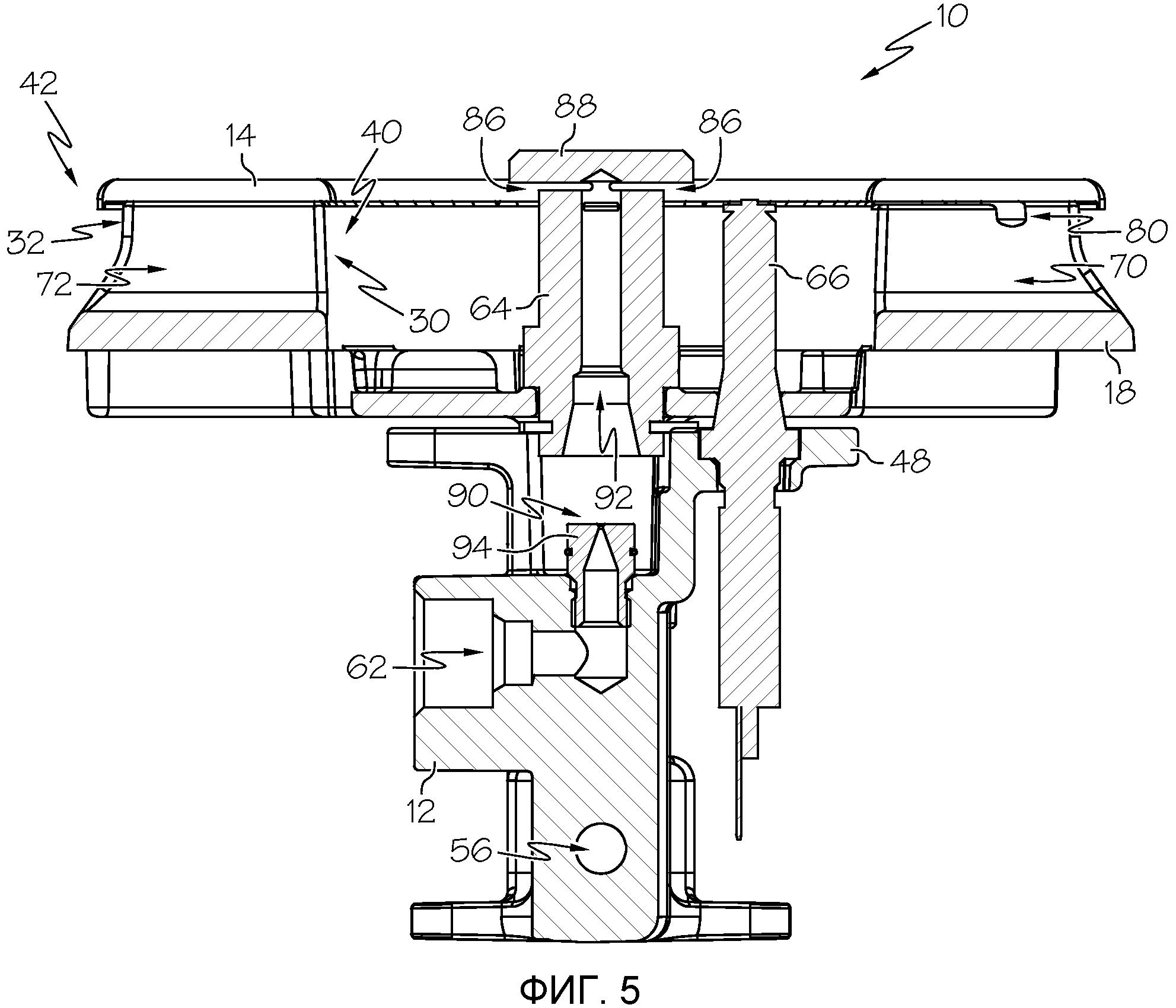 Газовая горелка (варианты)