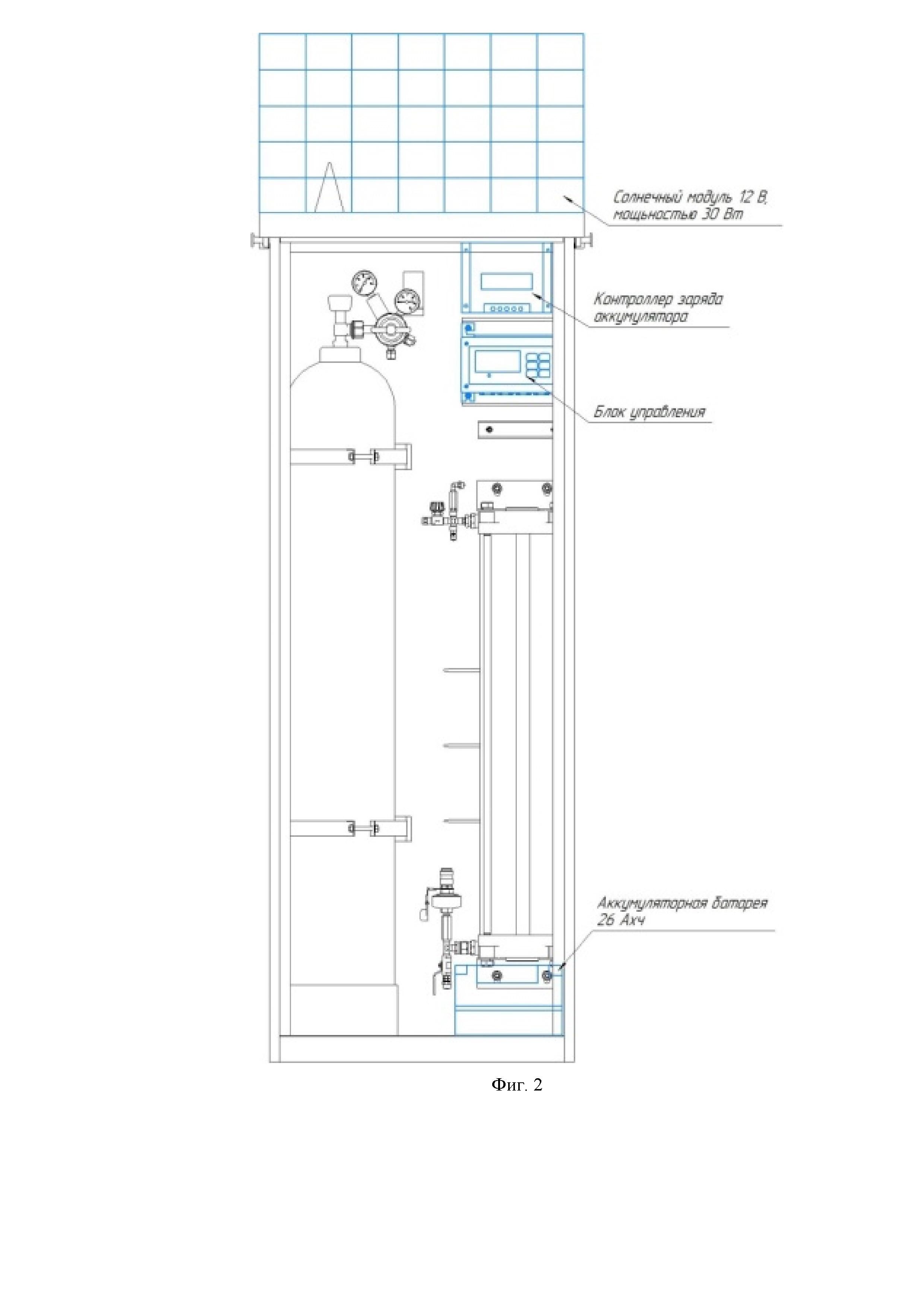 Модернизированный стационарный путевой рельсосмазыватель