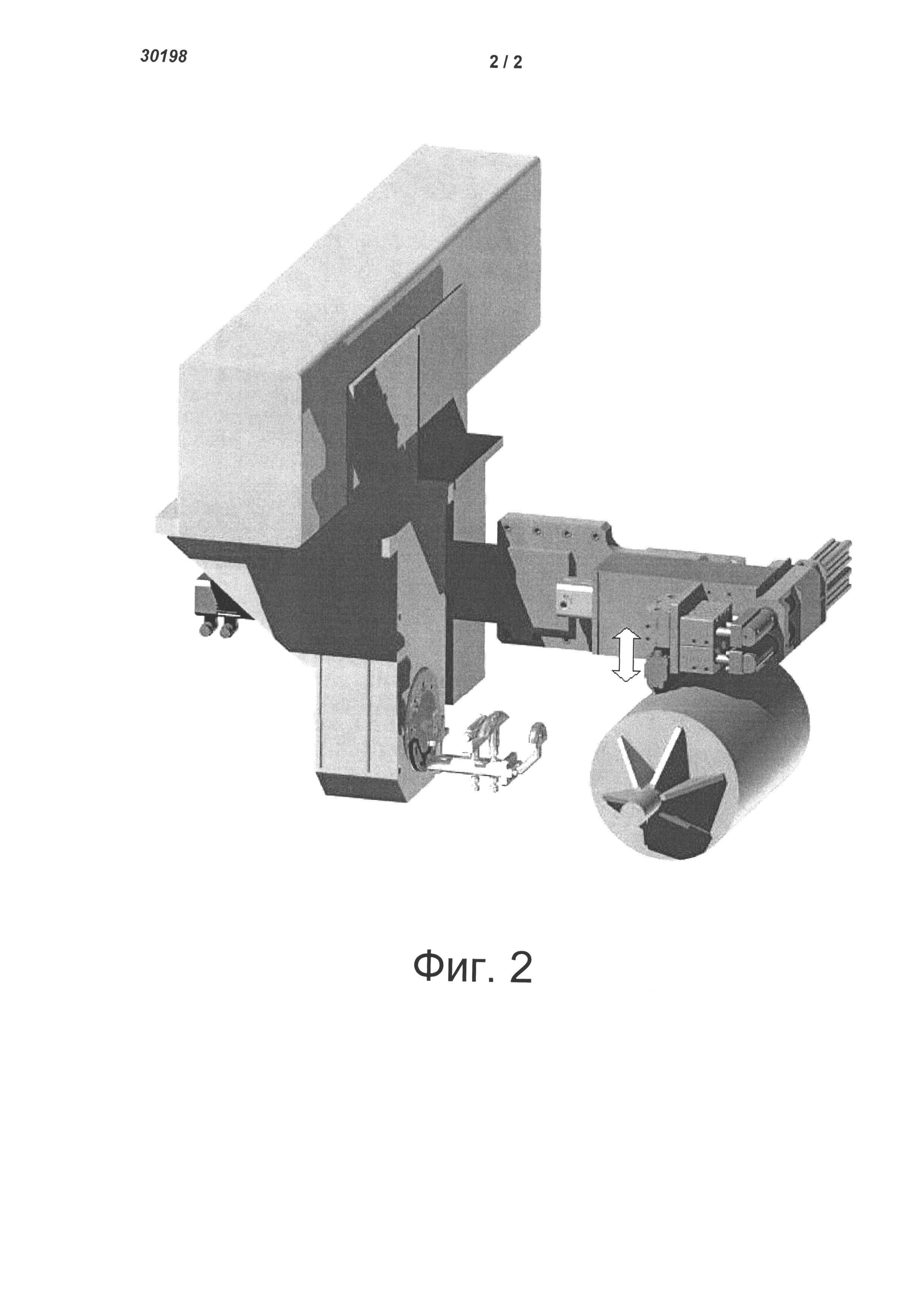 Устройство для автоматической резки и укладки пропитанных полимером волокон