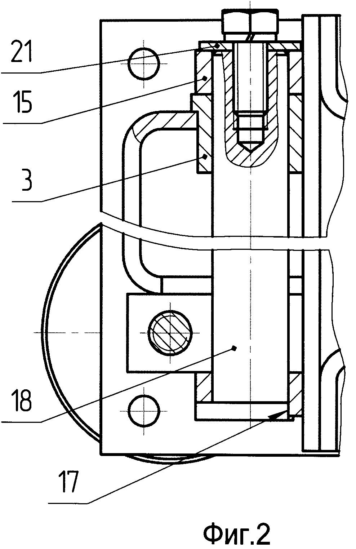 Кронштейн для установки панельного компьютера на подвижном объекте
