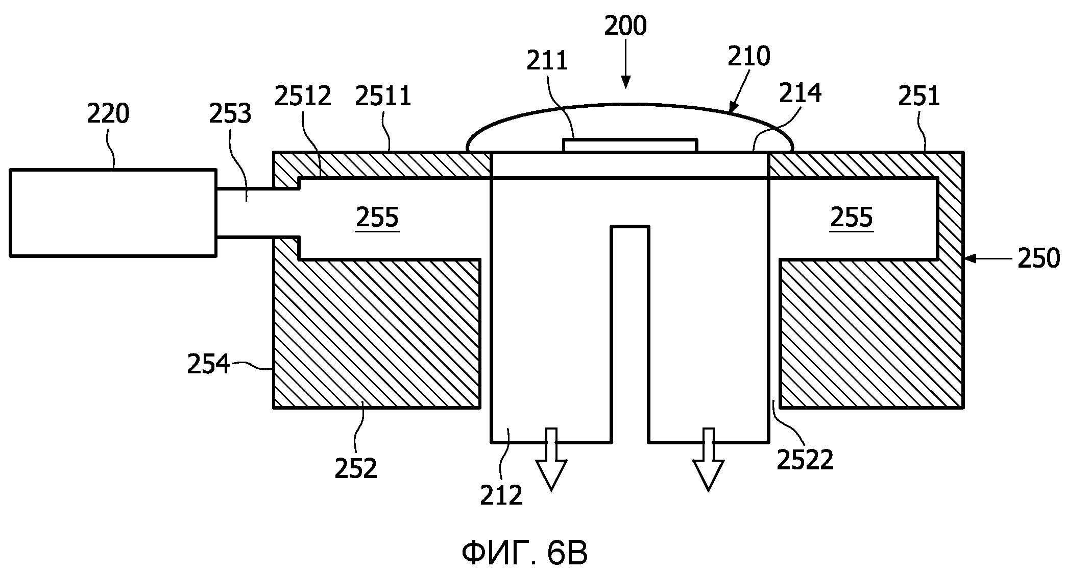Охлаждающее устройство для охлаждения полупроводникового кристалла