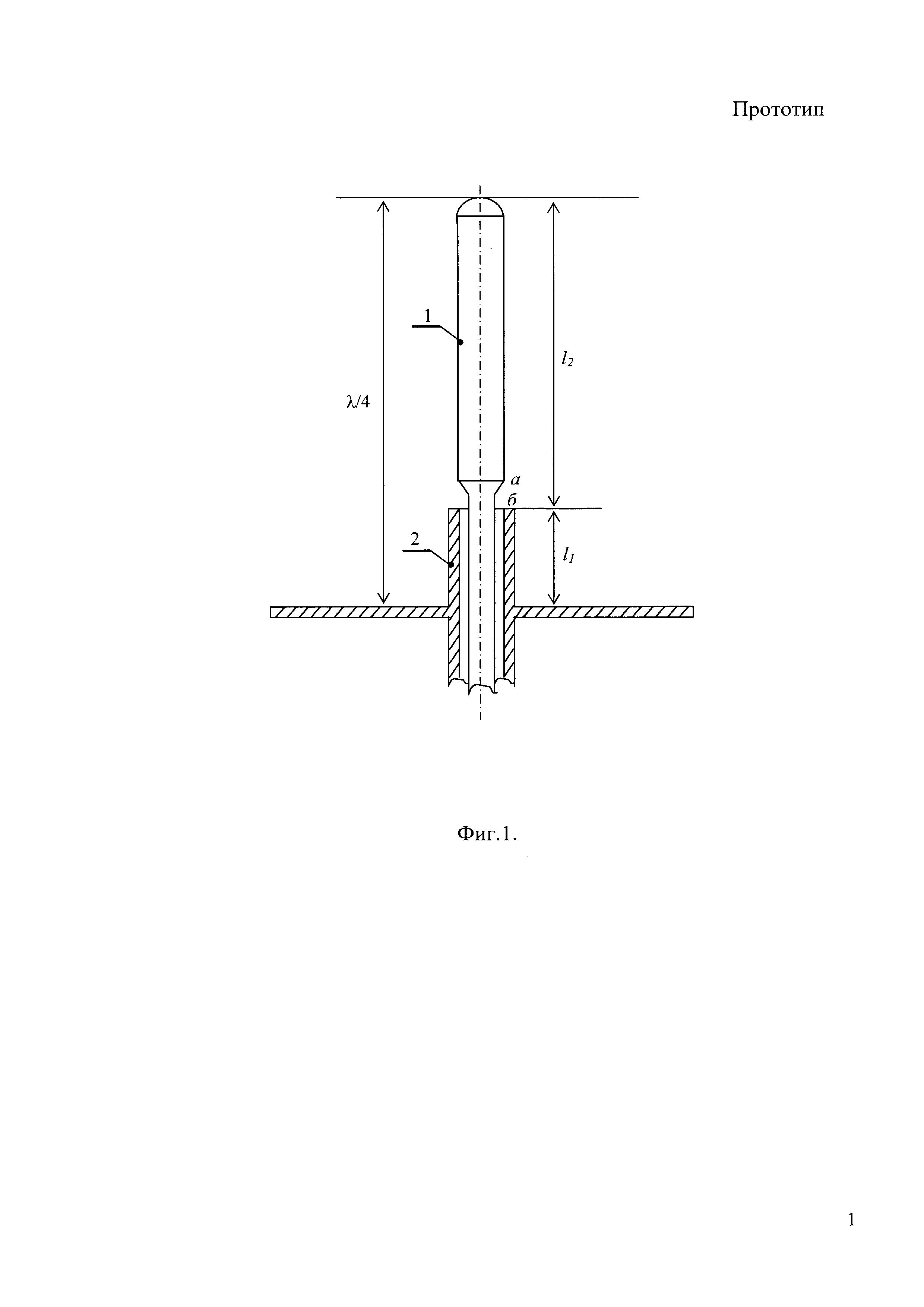 Штыревая антенна