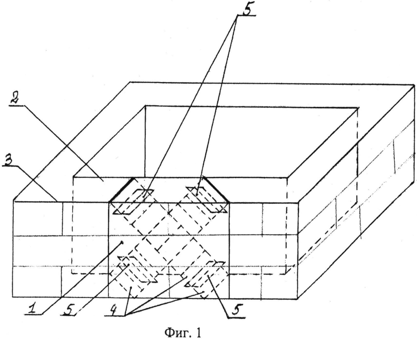 Блок несъемной опалубки