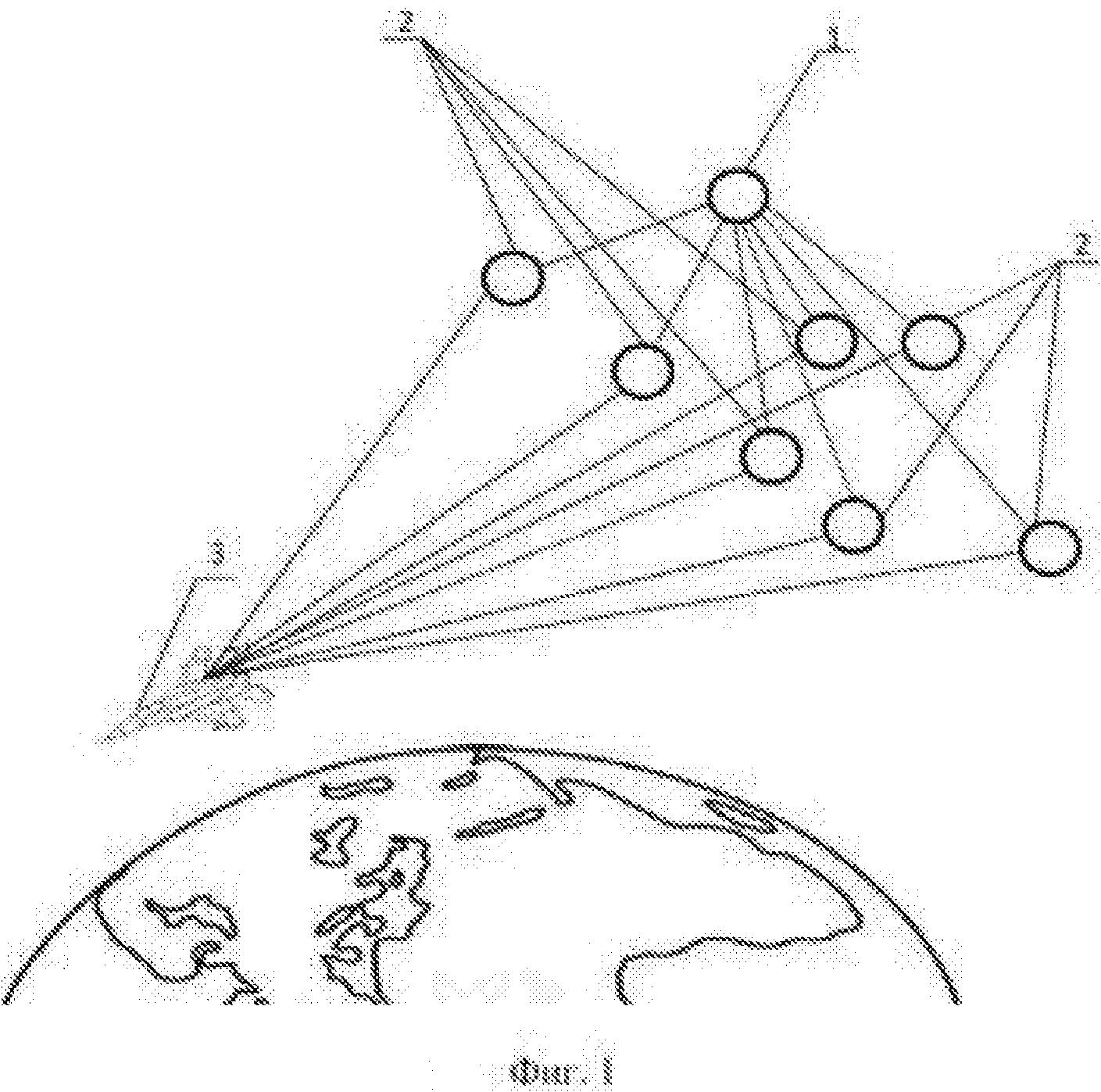 Способ формирования эллиптической диаграммы направленности цифровой активной фазированной антенной решетки на базе