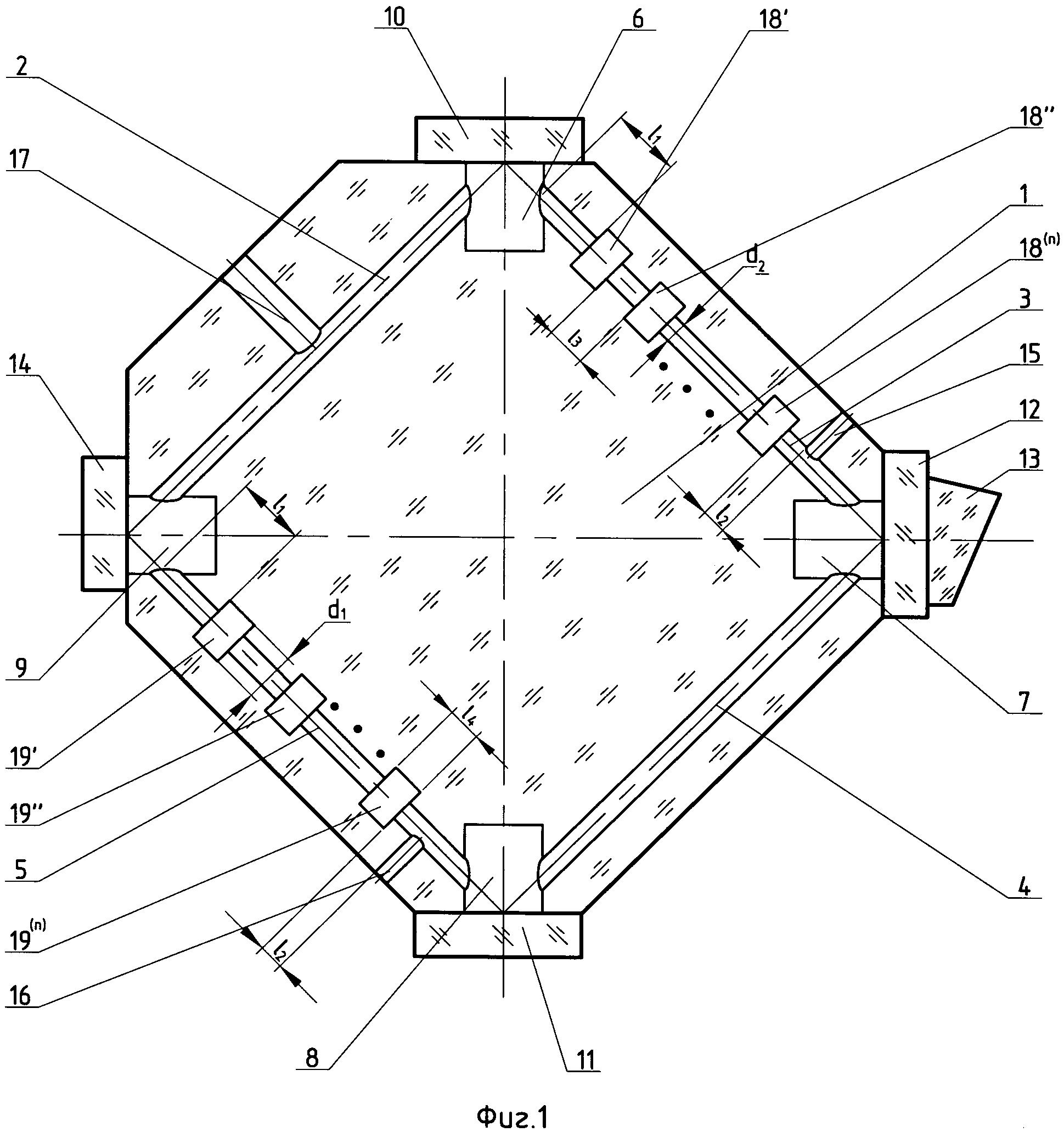 Резонатор лазерного гироскопа