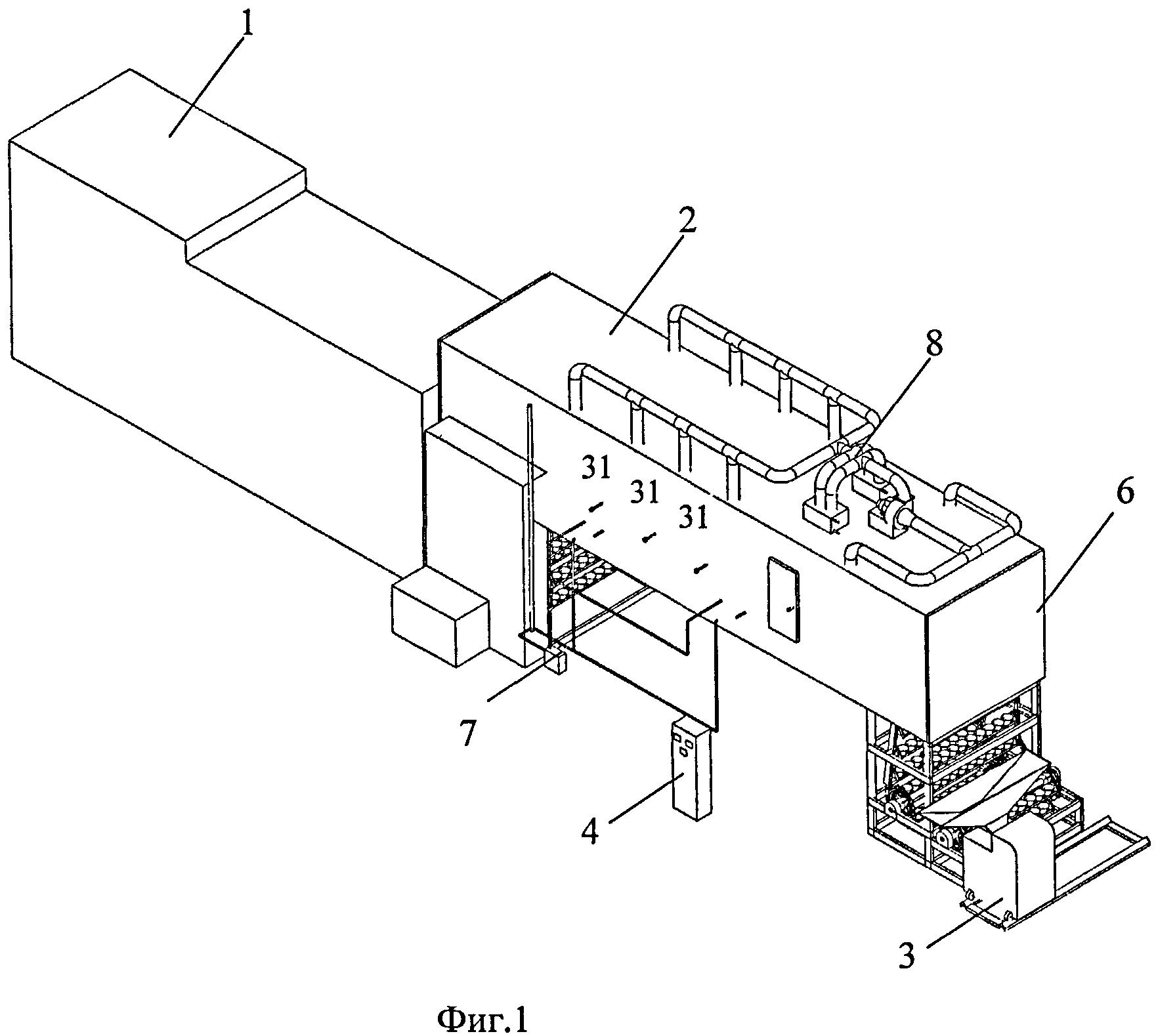 Способ расстойки тестовых заготовок и устройство для его осуществления на базе хлебопекарной линии с печью хпа-40
