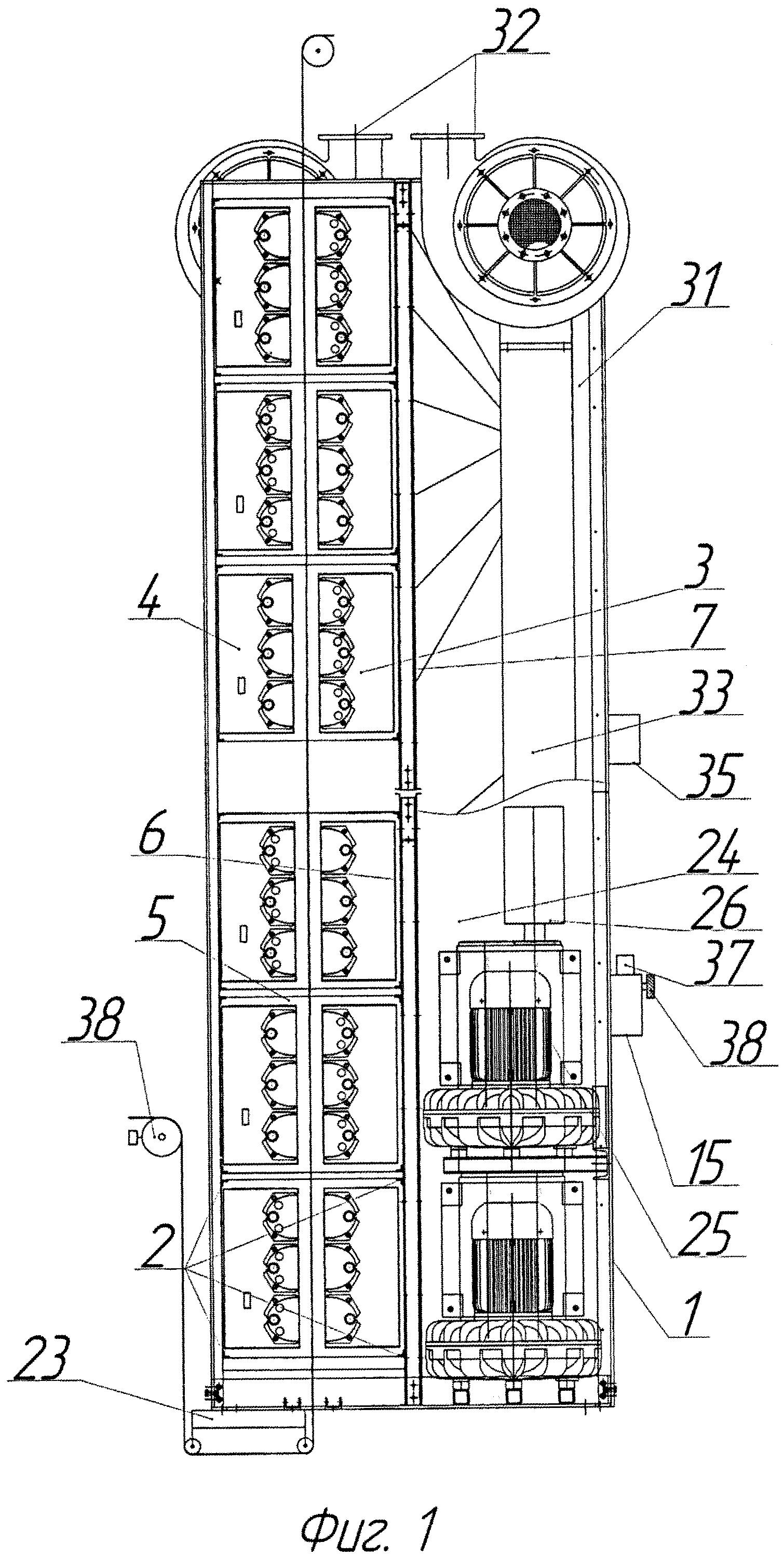 Устройство для термической обработки движущегося материала