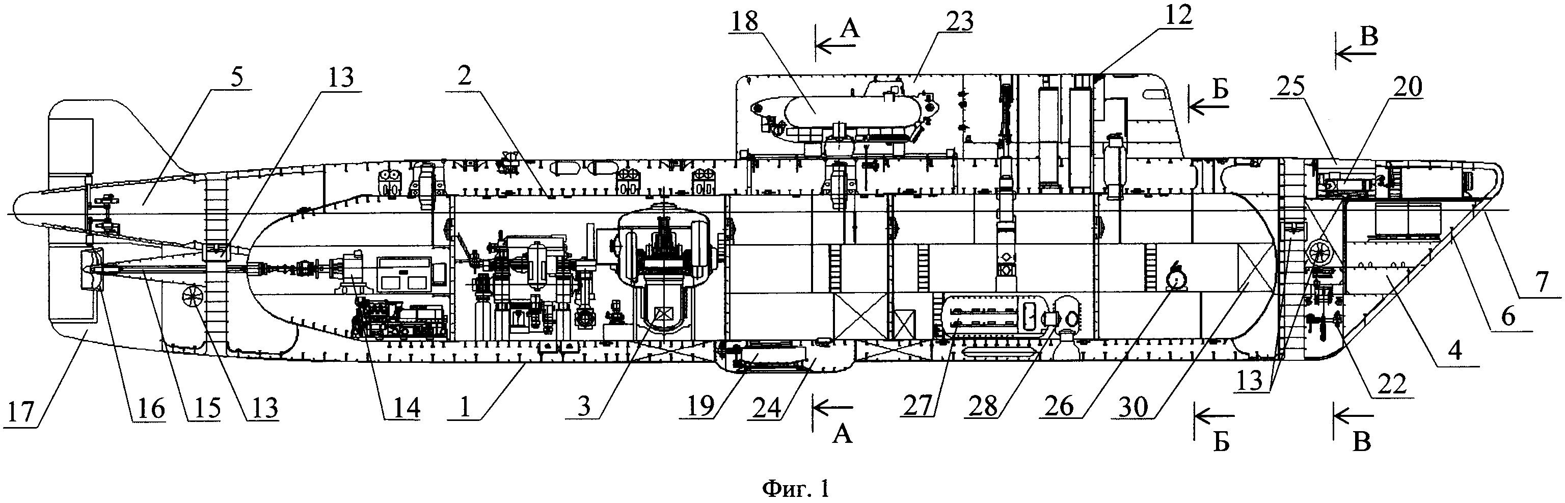 Подводное судно для обслуживания подводных добычных комплексов на арктическом шельфе и других подводно-технических работ