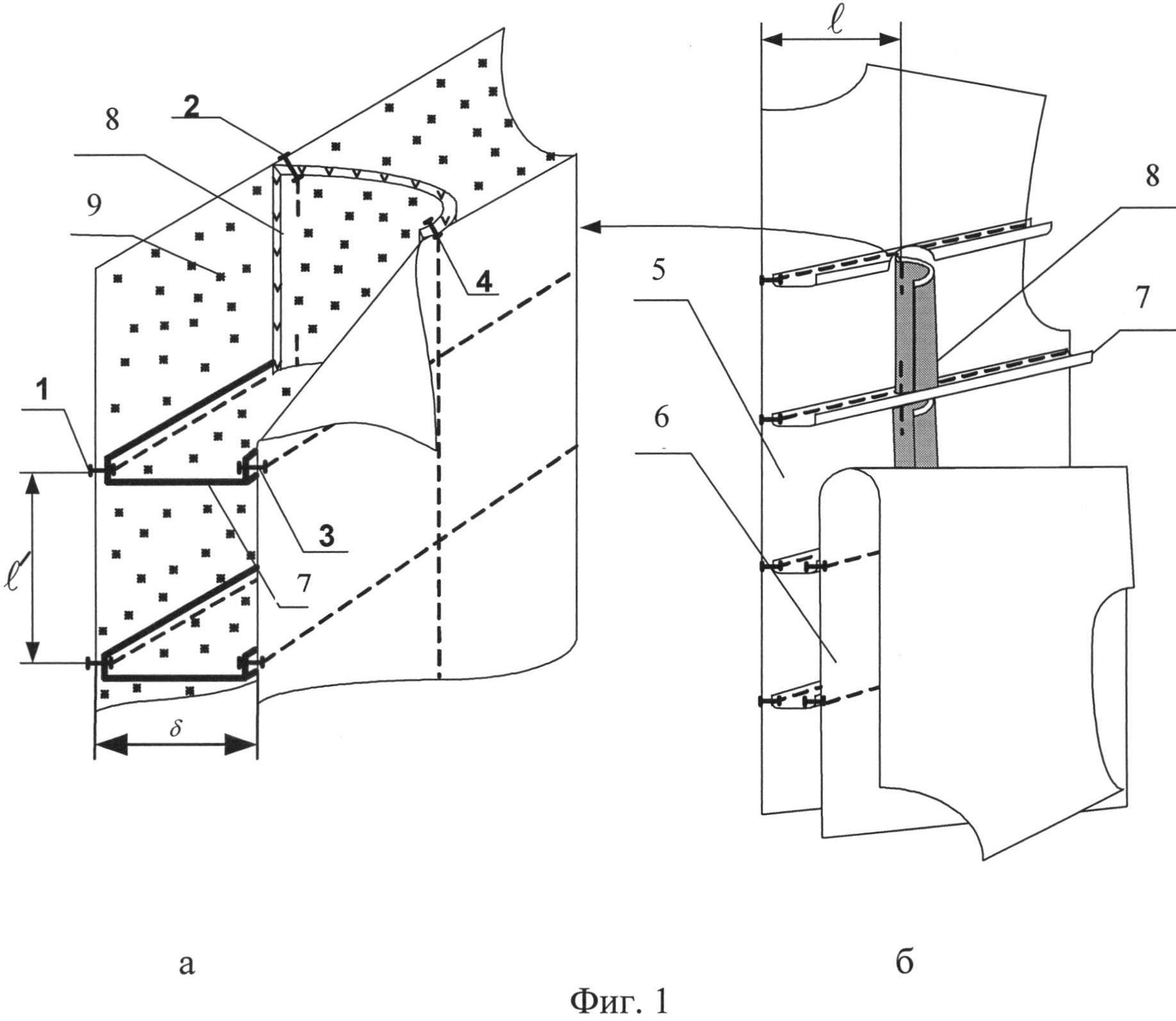 Конструкция пакета специальной одежды с повышенной устойчивостью к аэродинамической деформации
