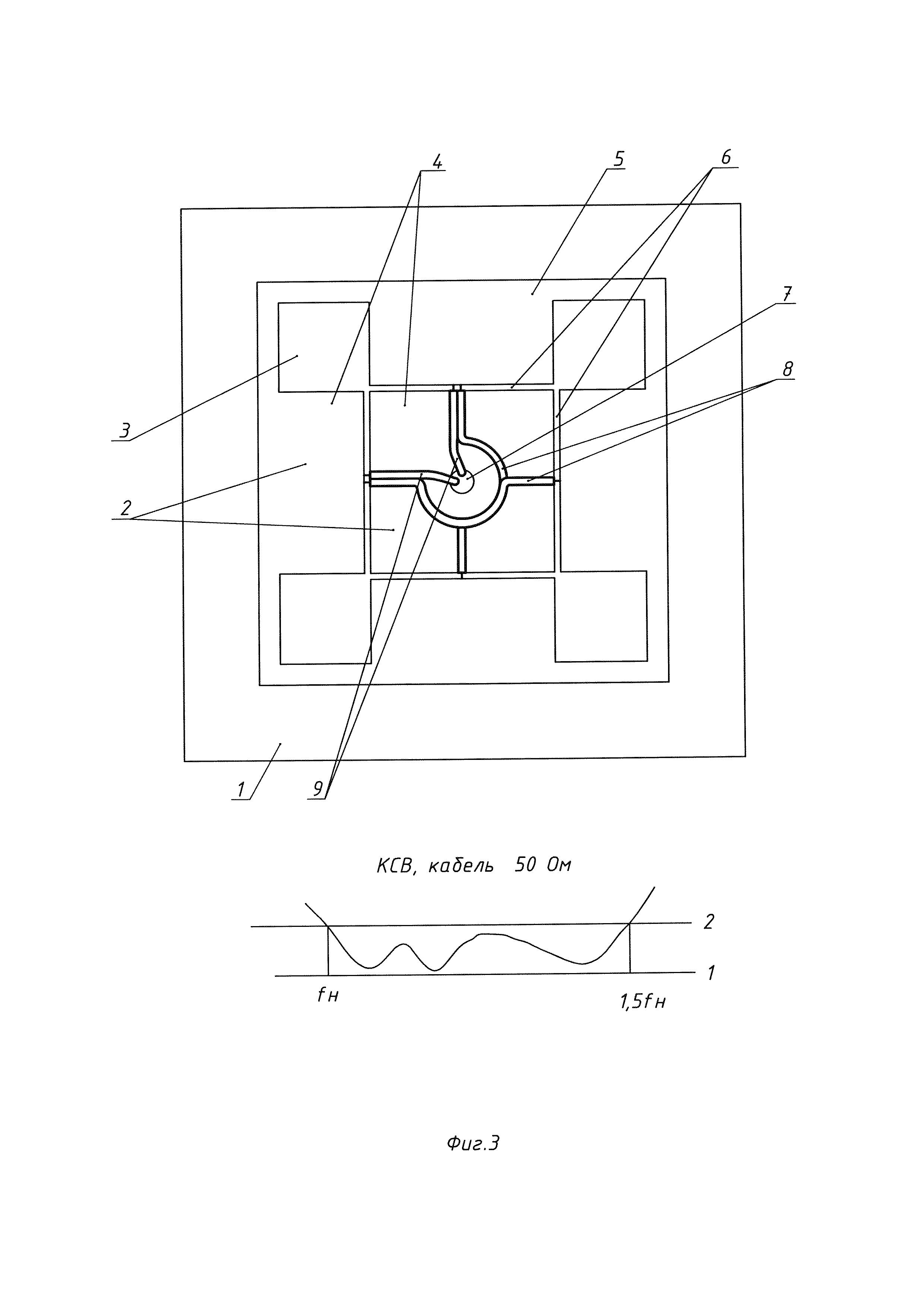 Двухполяризационная антенна
