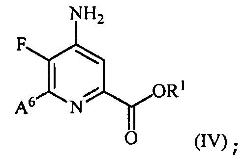 Способ получения 4-амино-5-фтор-3-галоген-6-(замещенных)пиколинатов