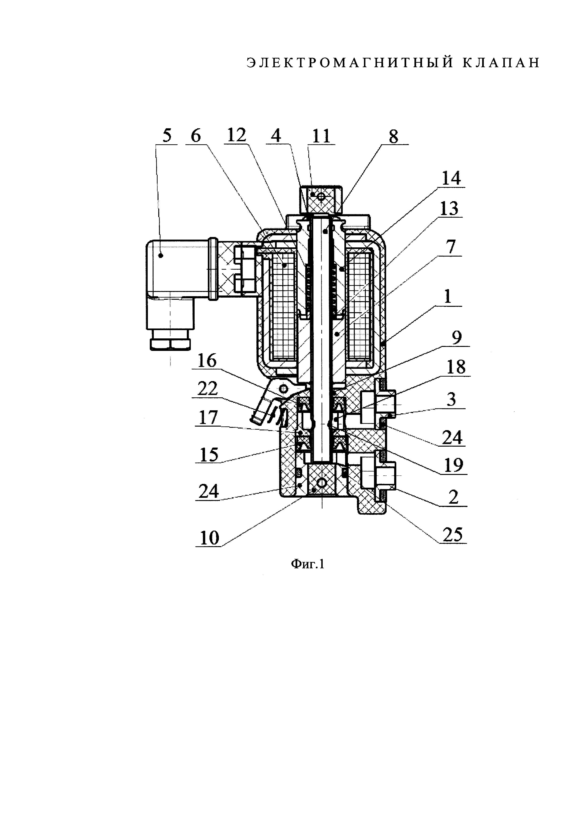 Электромагнитный клапан (варианты)