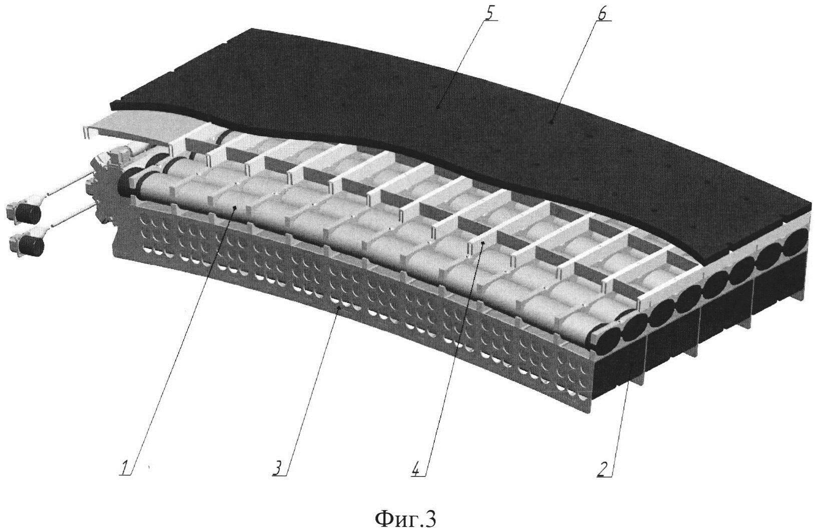 Приемный гидроакустический блок
