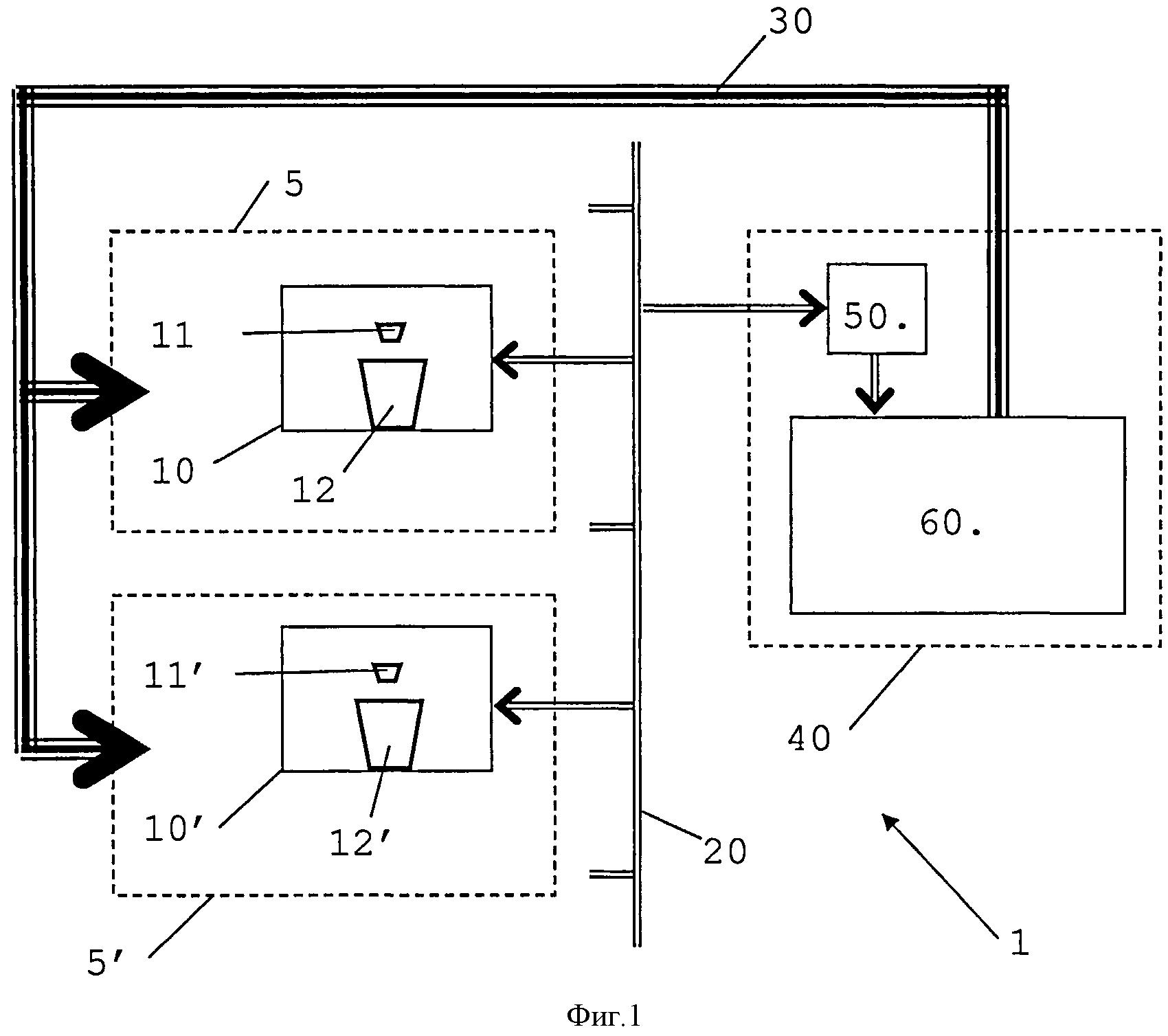 Машина для приготовления напитков, соединенная с сетью
