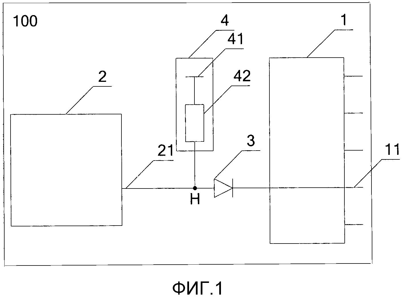 Электронное устройство и система передачи данных